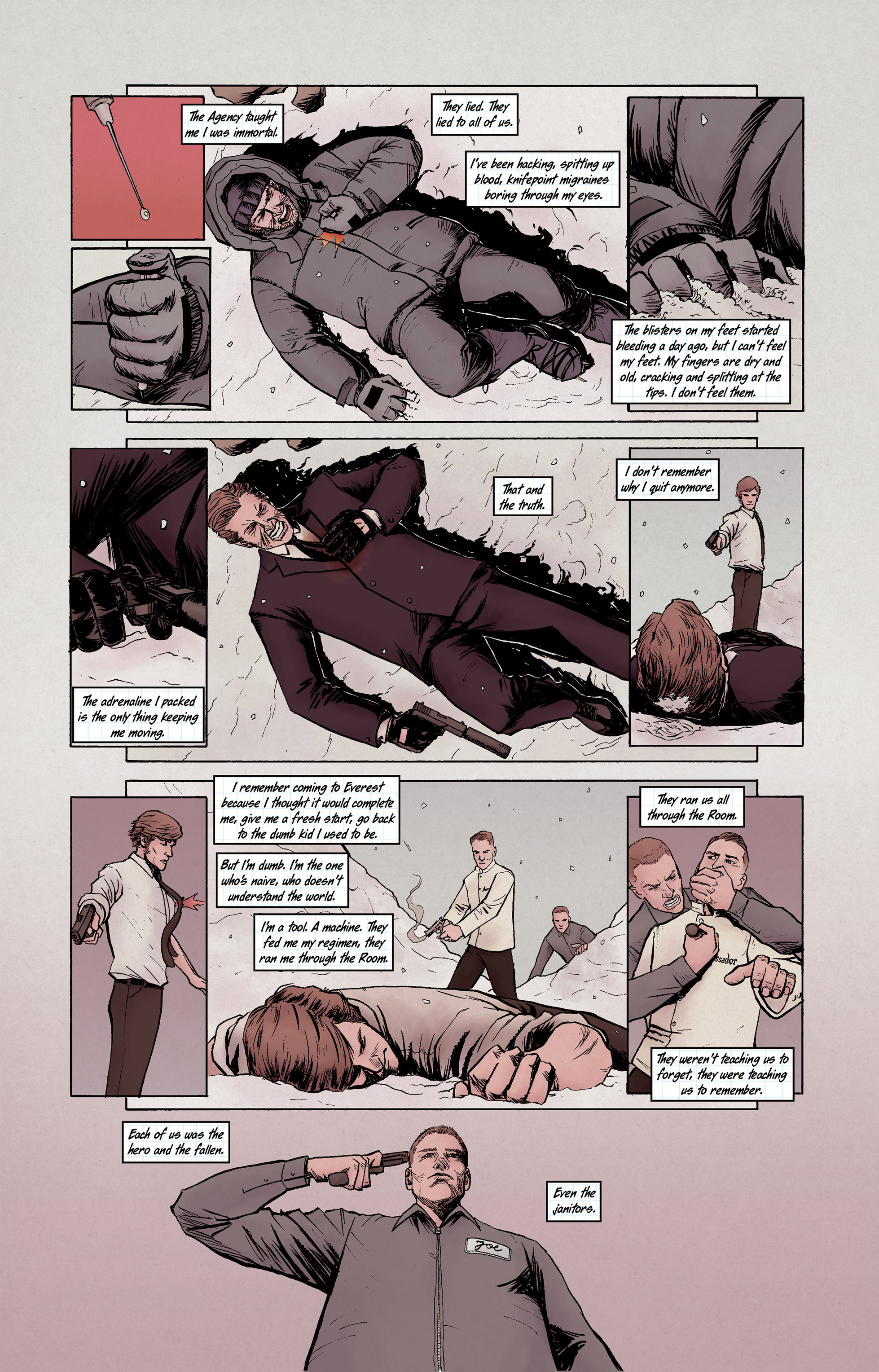Read online High Crimes comic -  Issue #10 - 5
