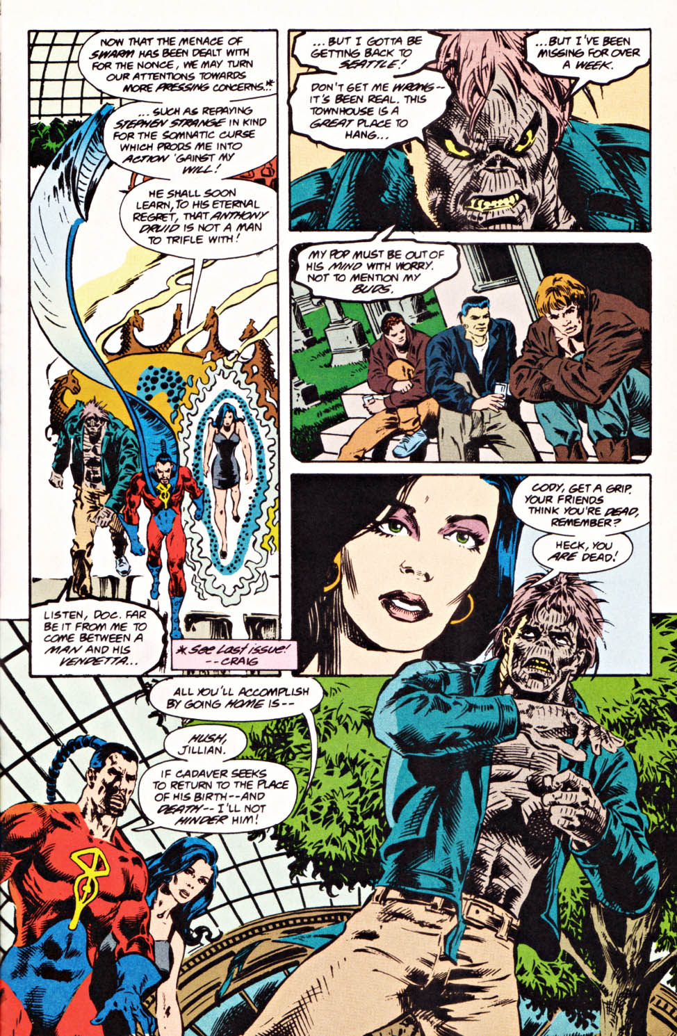 Read online Secret Defenders comic -  Issue #20 - 4