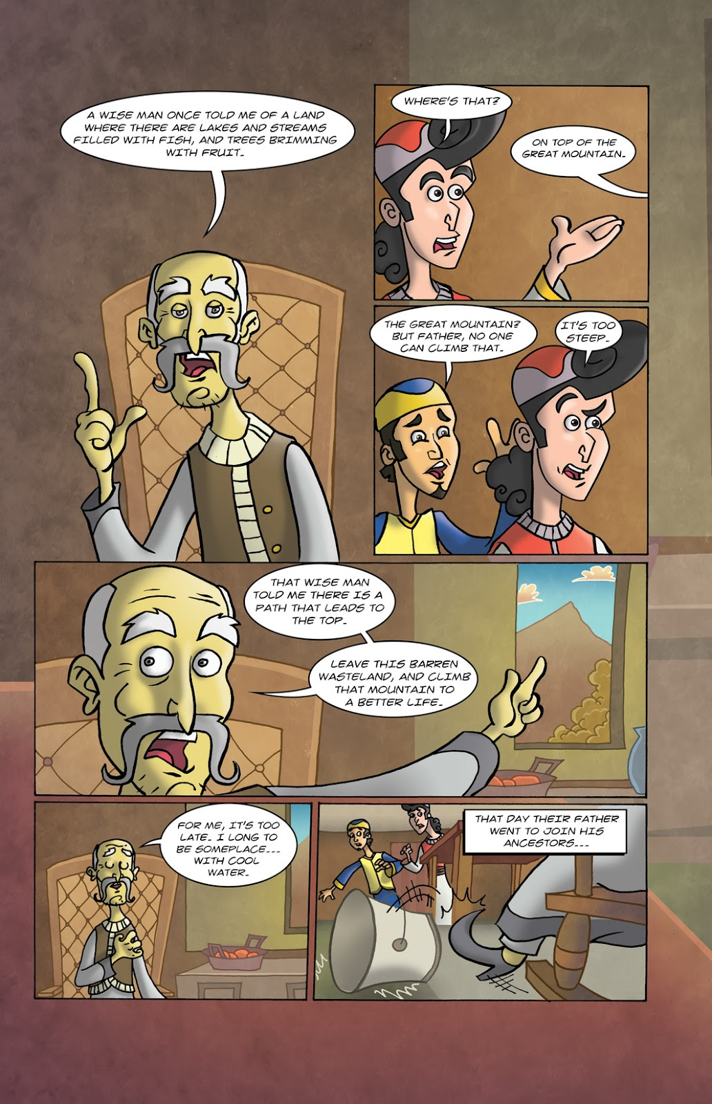 1001 Nights Issue #10 Page 10