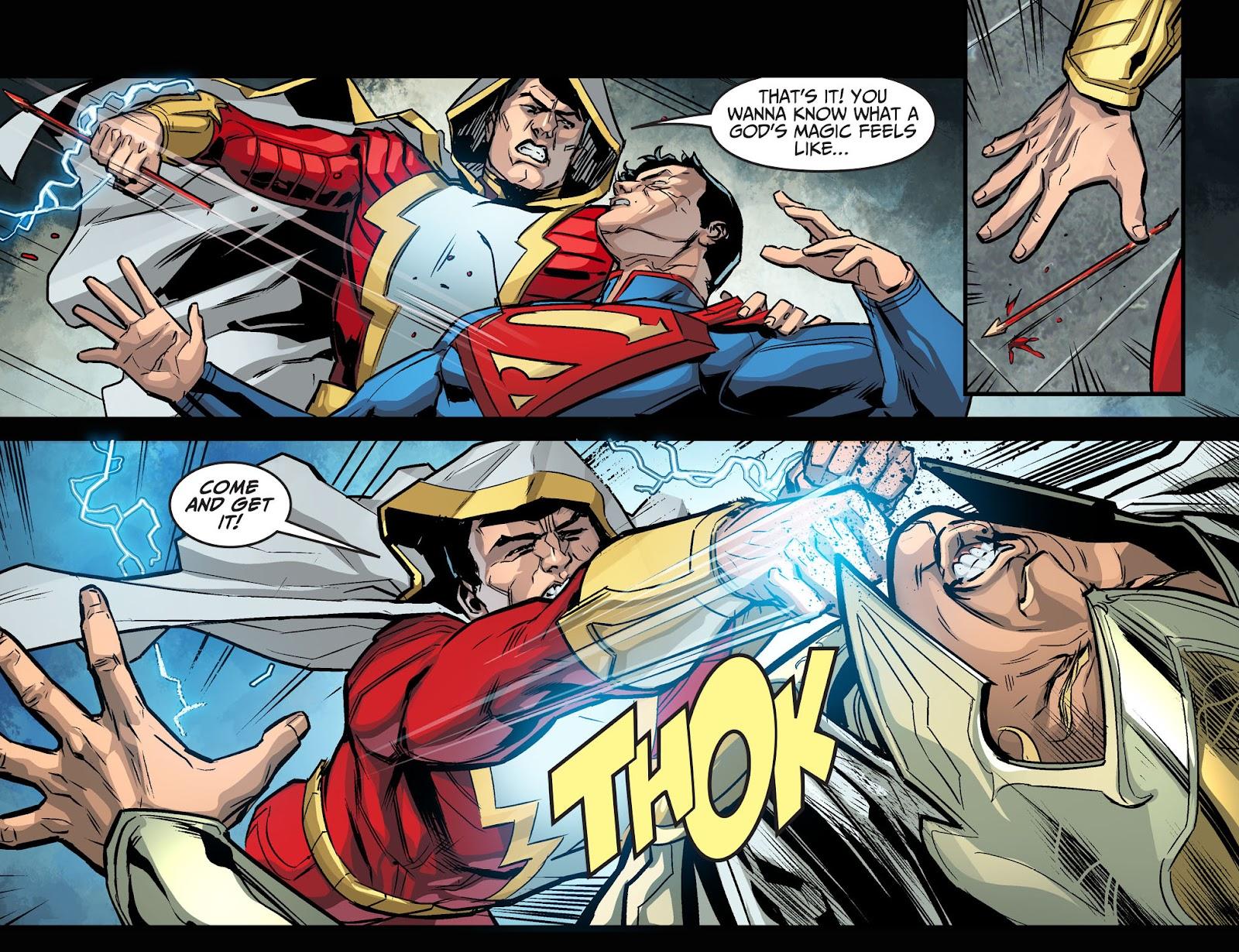 Injustice: Gods Among Us Year Four Issue #14 #15 - English 8