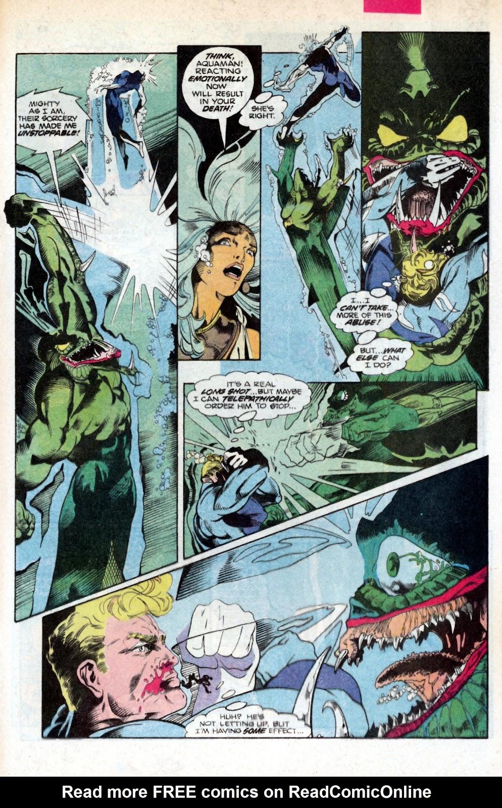 Aquaman (1986) Issue #2 #2 - English 25