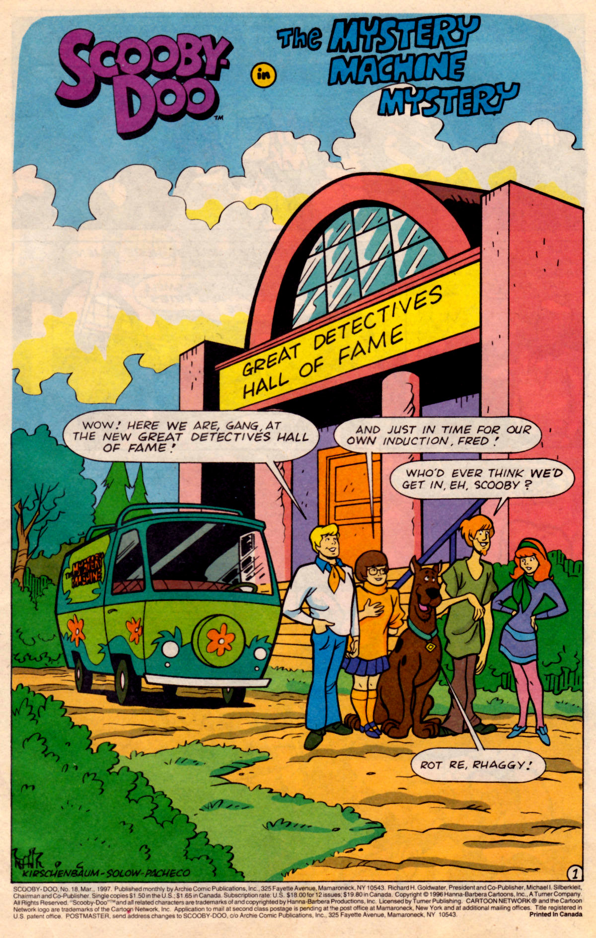 Read online Scooby-Doo (1995) comic -  Issue #18 - 2