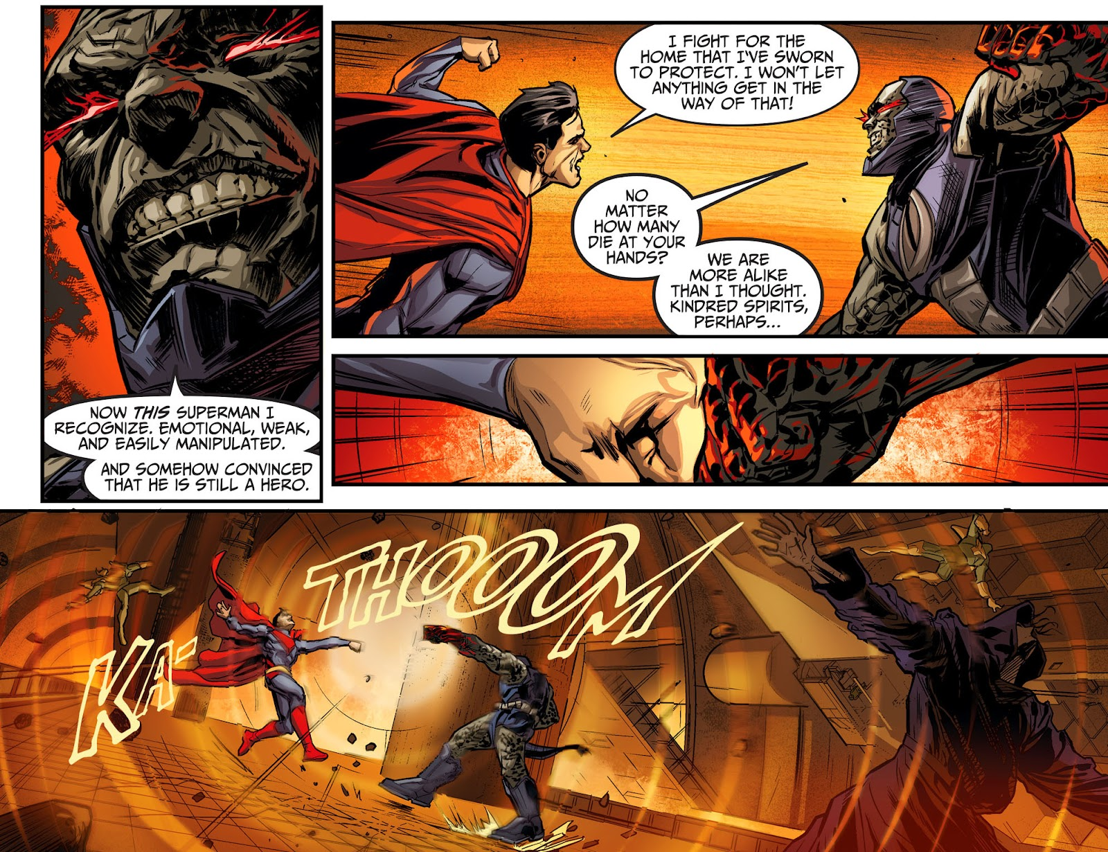 Injustice: Gods Among Us Year Four Issue #22 #23 - English 9