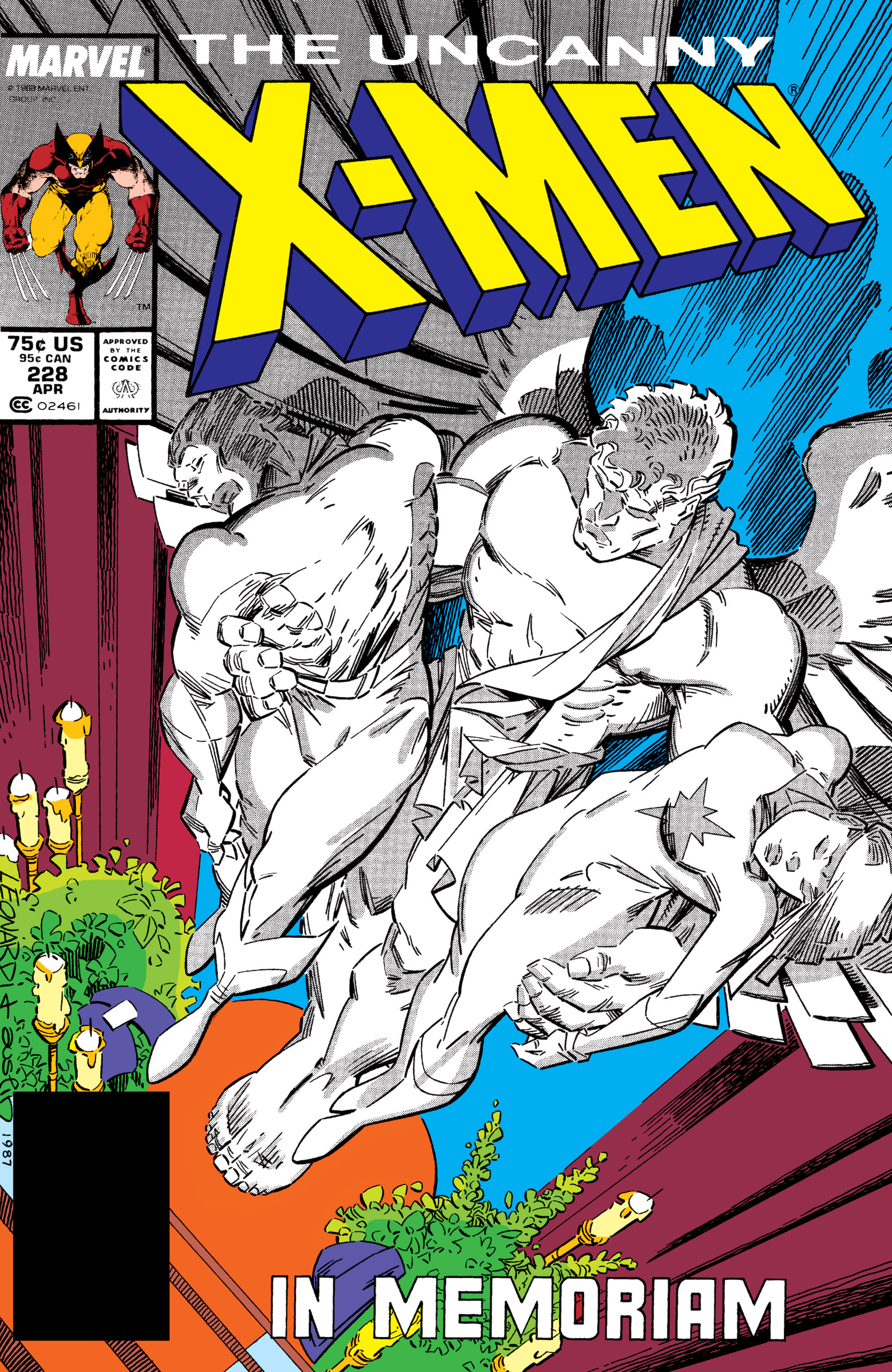 Uncanny X-Men (1963) 228 Page 1