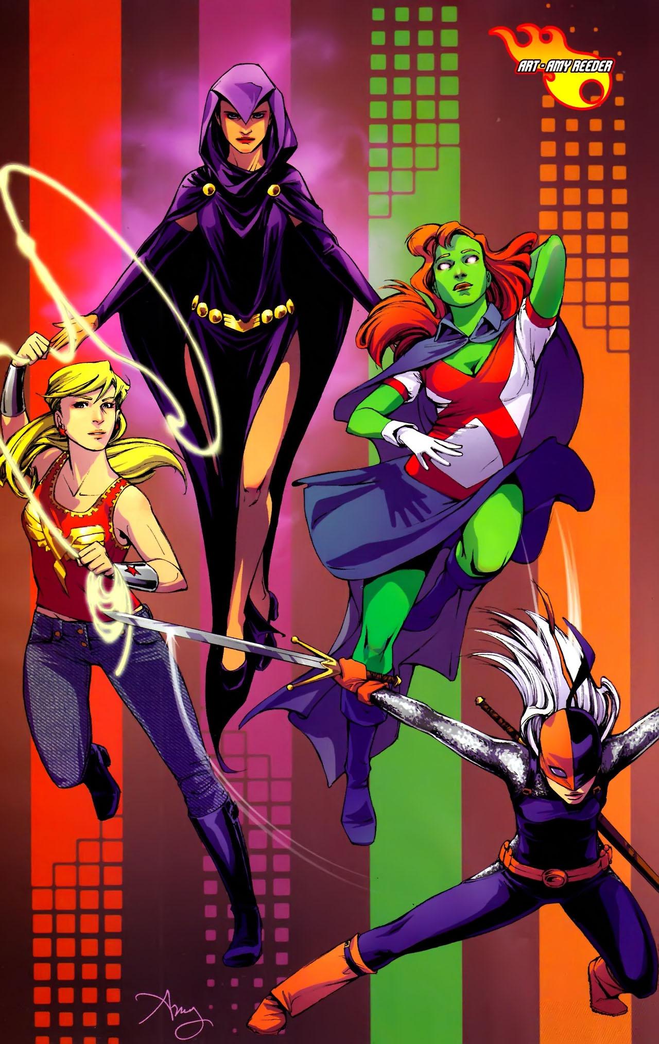 Teen Titans (2003) #100 #110 - English 35