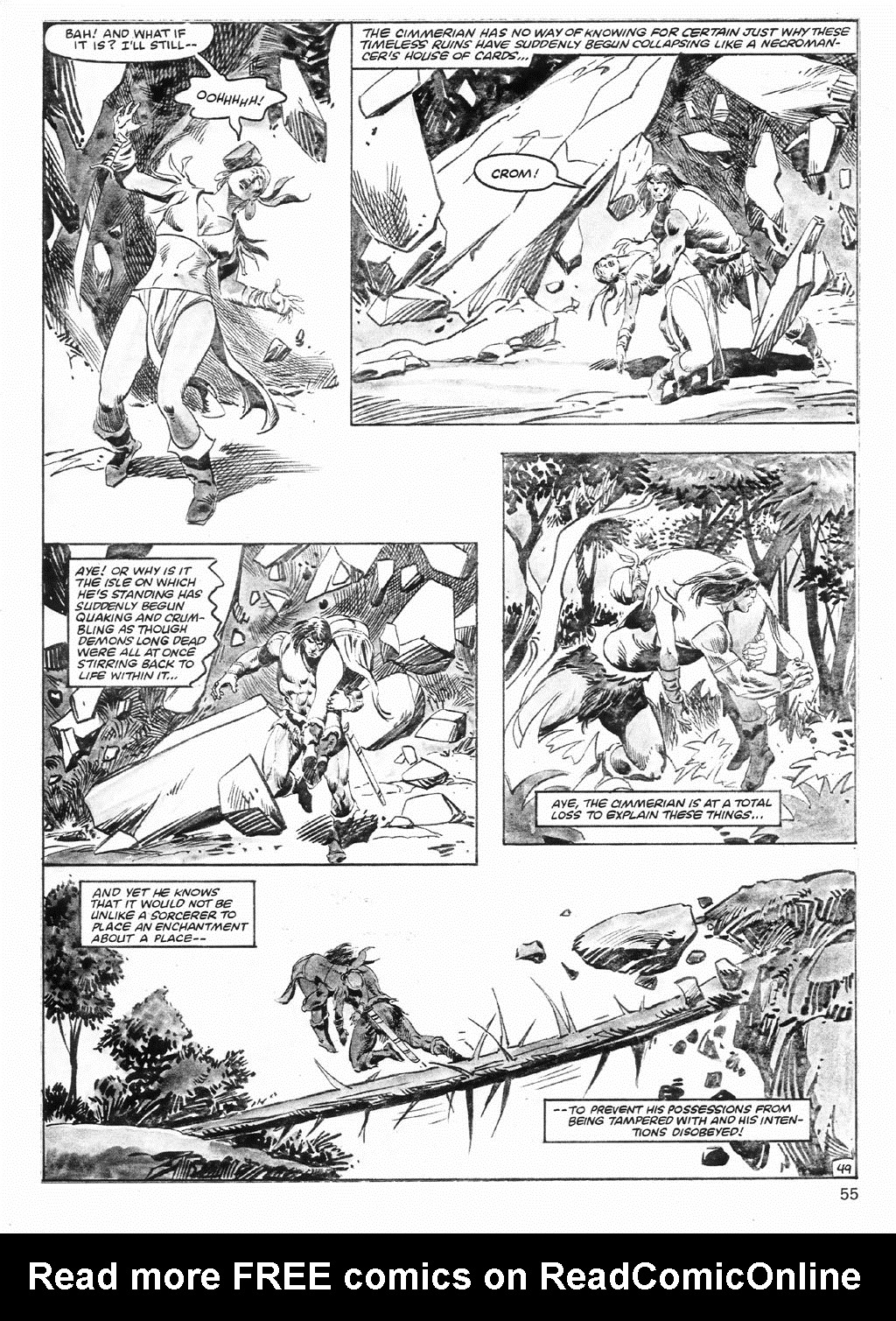 The Savage Sword Of Conan Issue #98 #99 - English 55