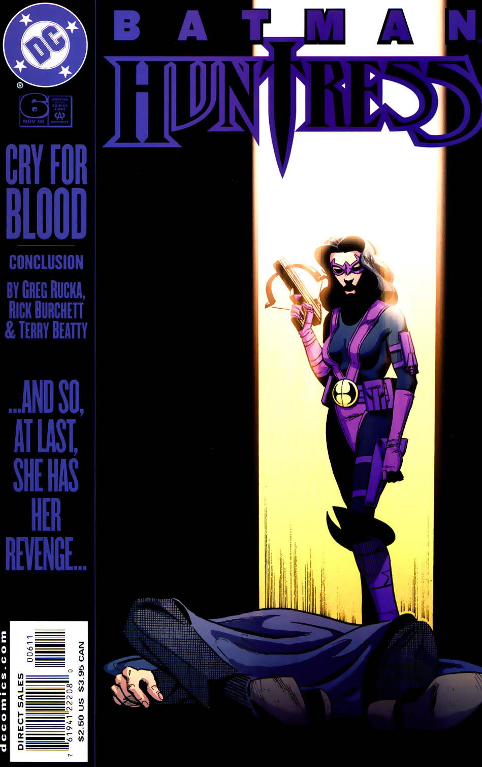 Batman/Huntress: Cry for Blood 6 Page 1