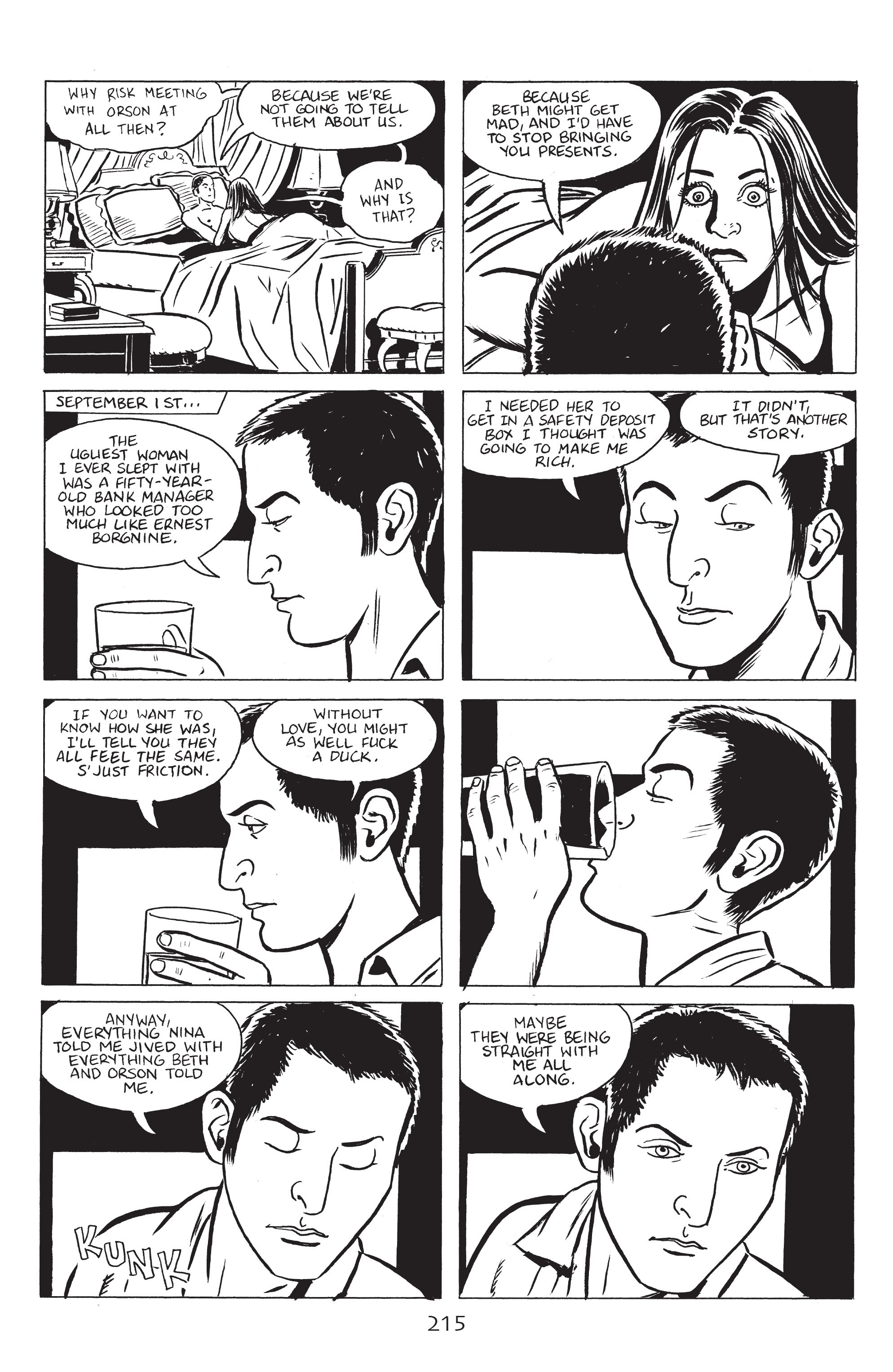 Read online Stray Bullets: Sunshine & Roses comic -  Issue #8 - 21