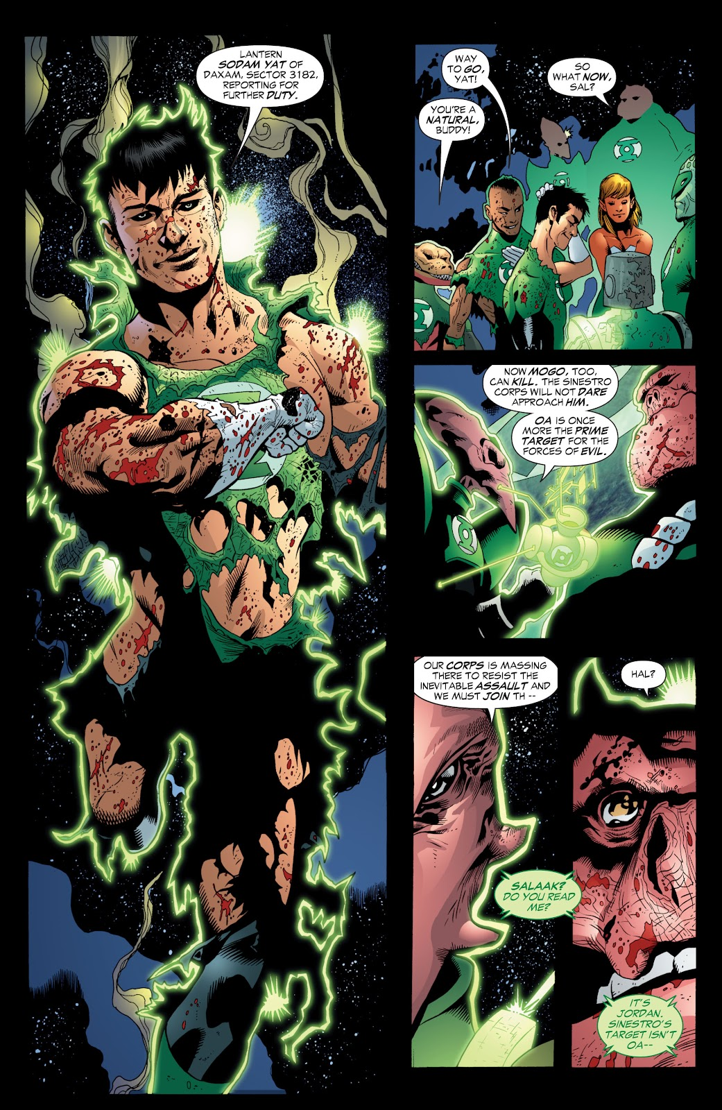 Green Lantern: The Sinestro Corps War Full #1 - English 178