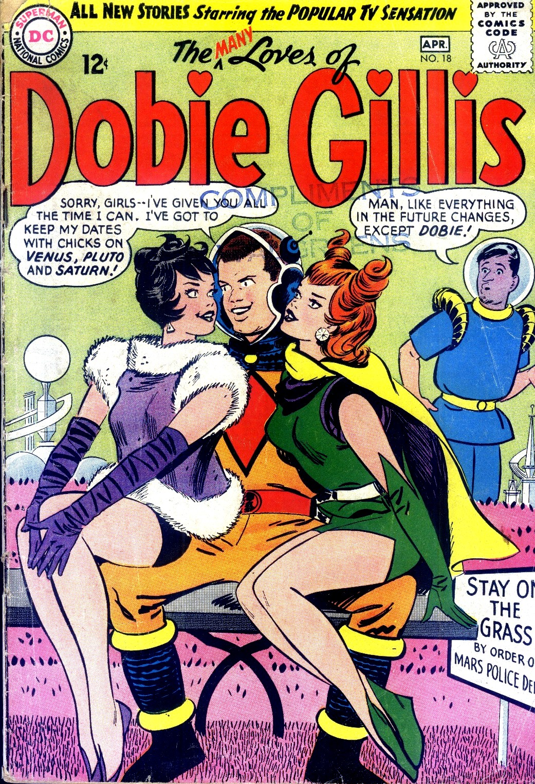 Many Loves of Dobie Gillis 18 Page 1