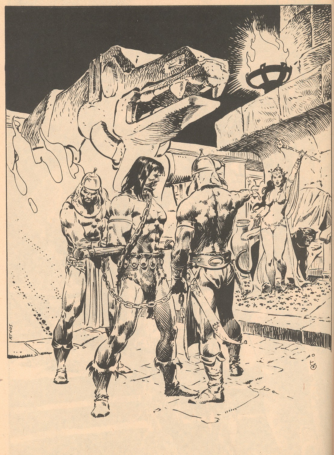 The Savage Sword Of Conan Issue #56 #57 - English 60