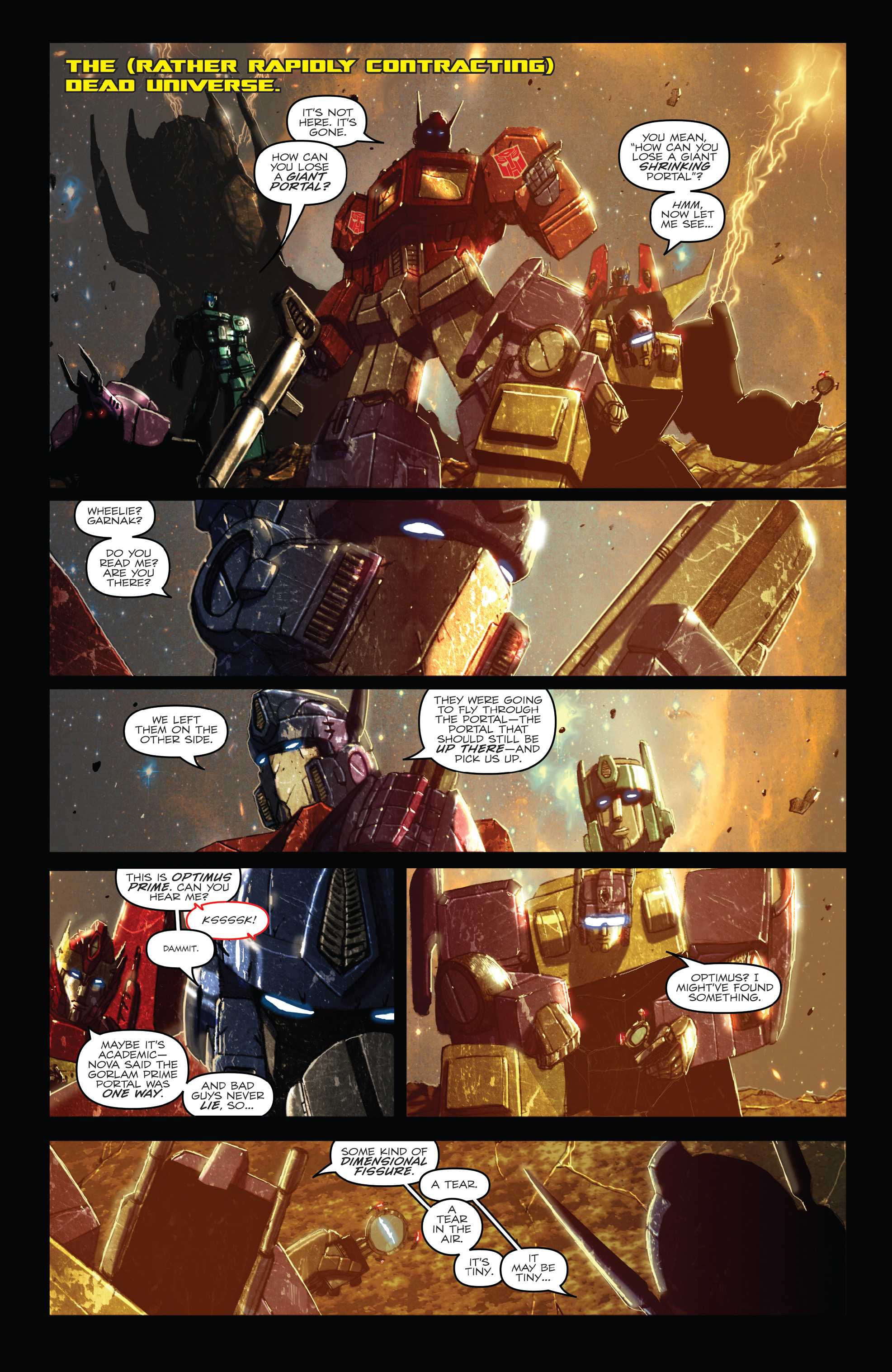 Read online The Transformers: Dark Cybertron Finale comic -  Issue # Full - 78