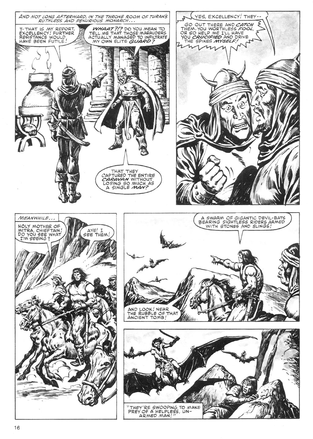 The Savage Sword Of Conan Issue #87 #88 - English 16