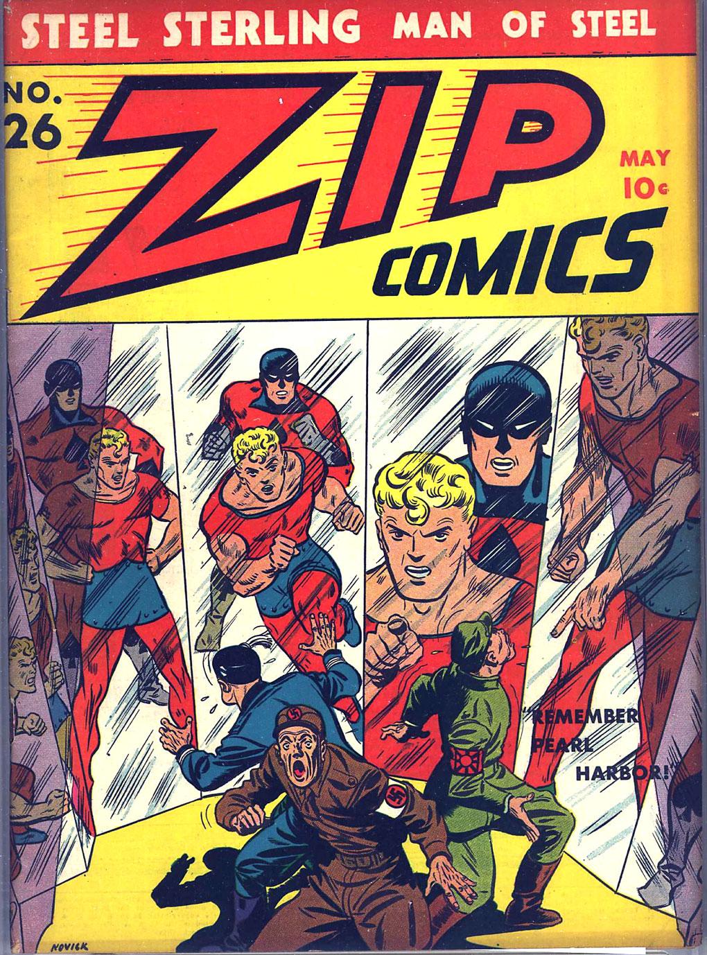Zip Comics 26 Page 1