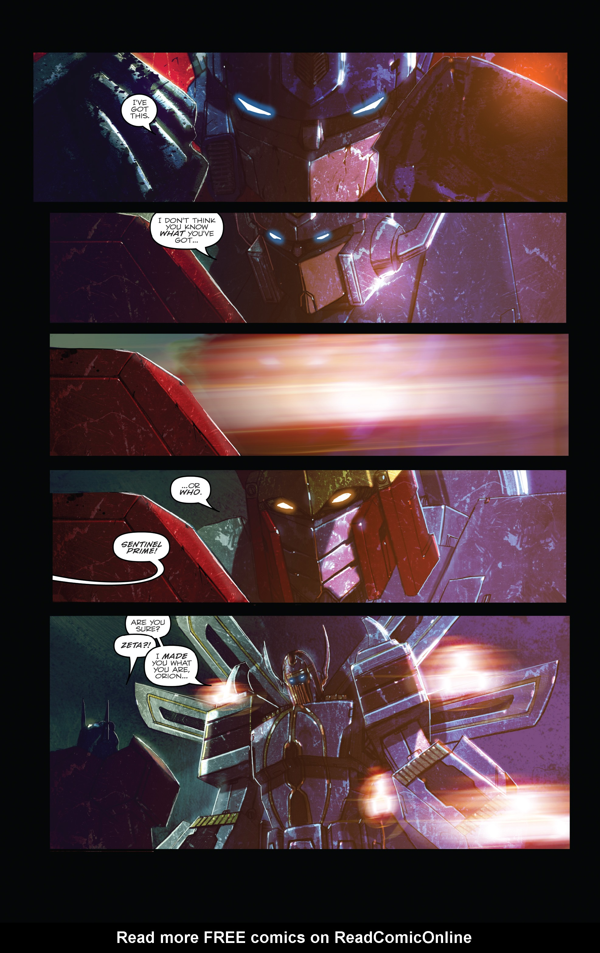 Read online The Transformers: Dark Cybertron Finale comic -  Issue # Full - 60