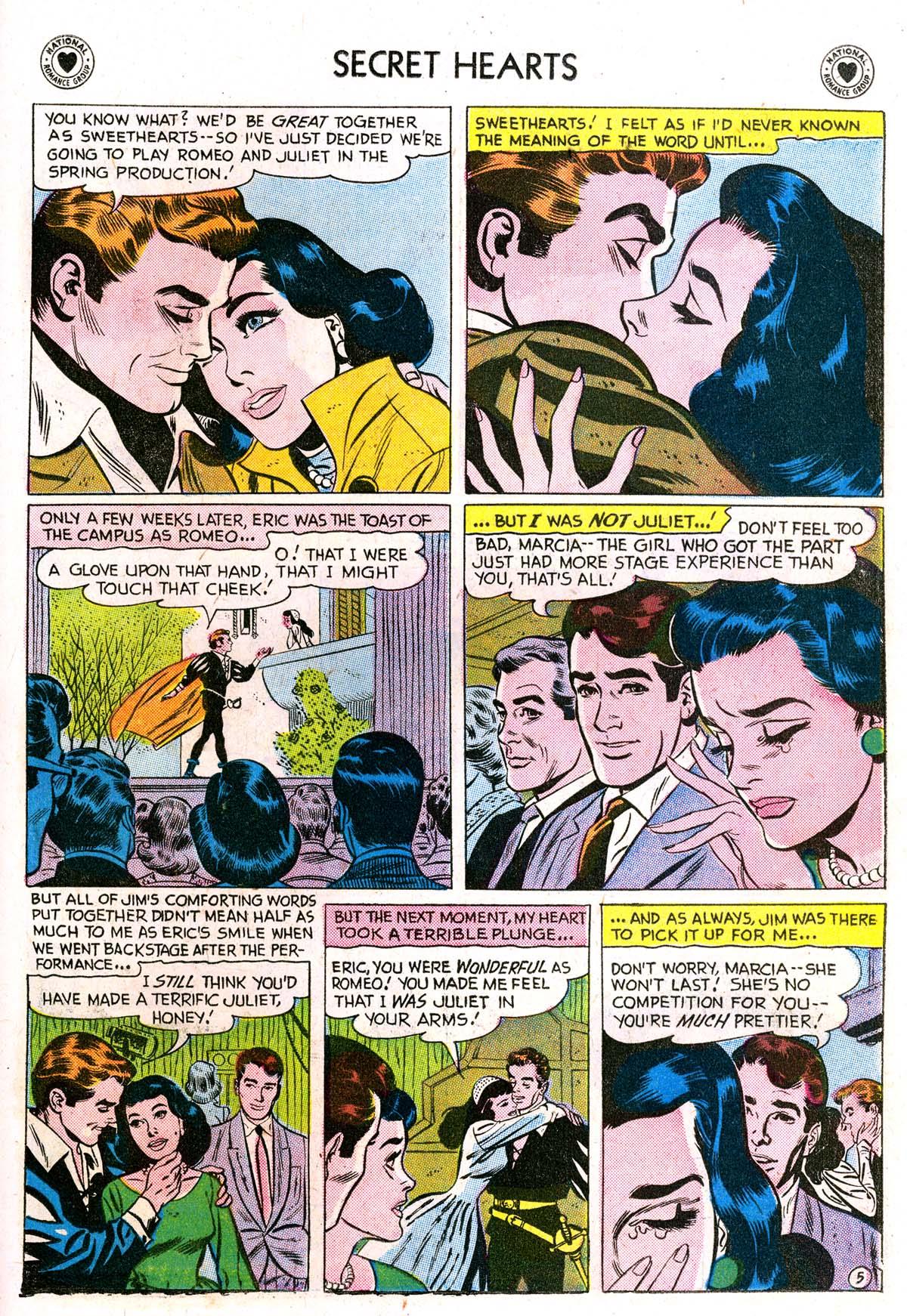 Read online Secret Hearts comic -  Issue #42 - 23