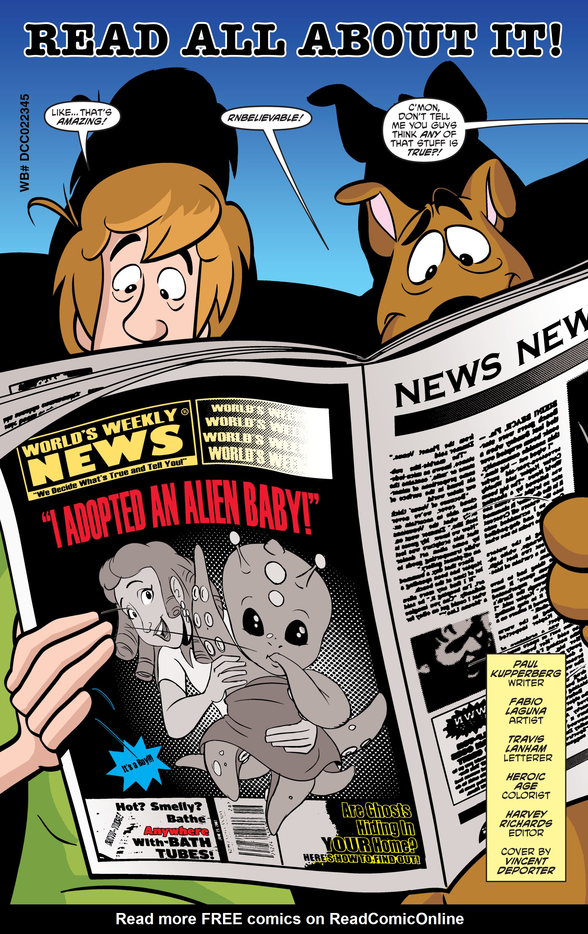 Read online Scooby-Doo: Where Are You? comic -  Issue #56 - 12