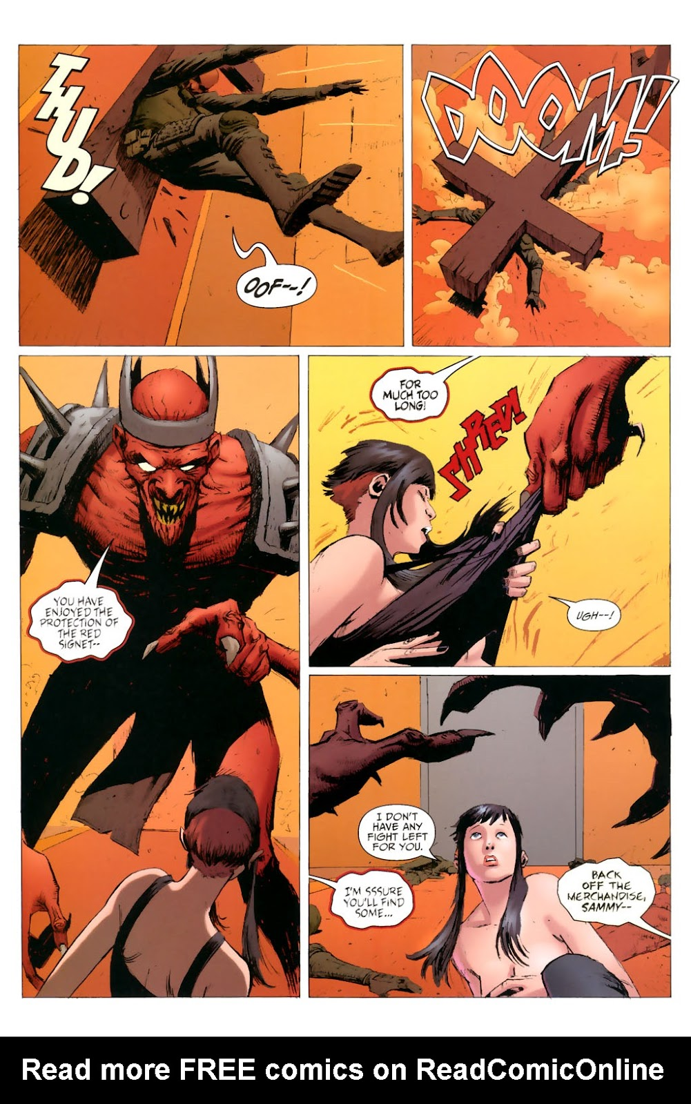 Strange Girl Issue #8 #9 - English 16