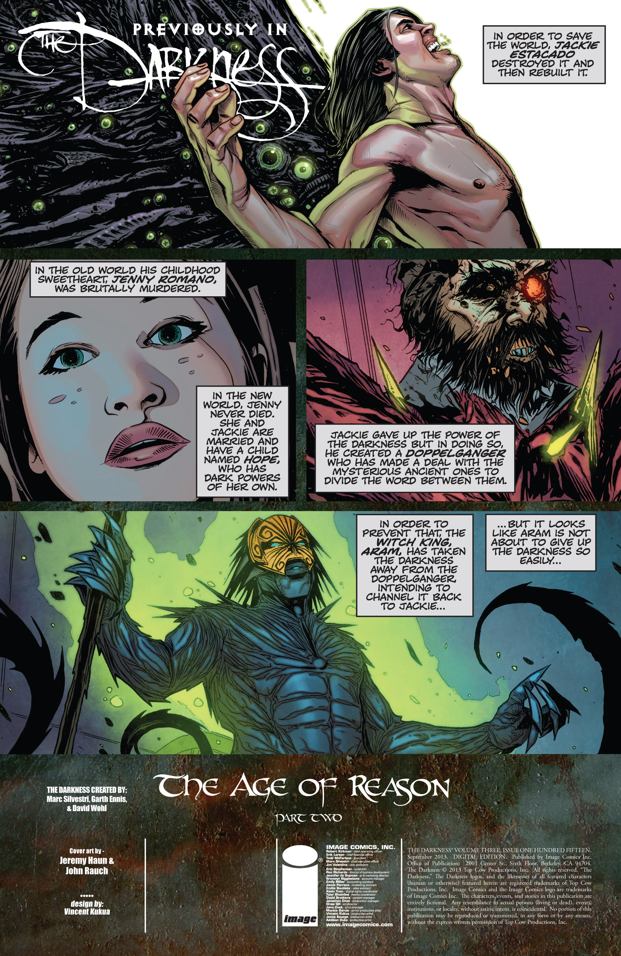 Read online The Darkness (2007) comic -  Issue #115 - 3