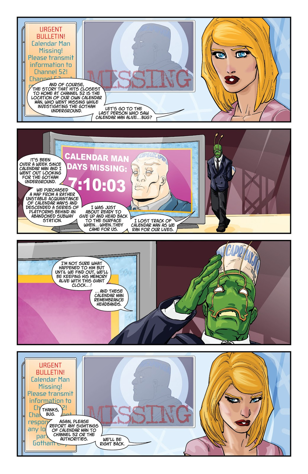 Threshold (2013) Issue #8 #8 - English 33