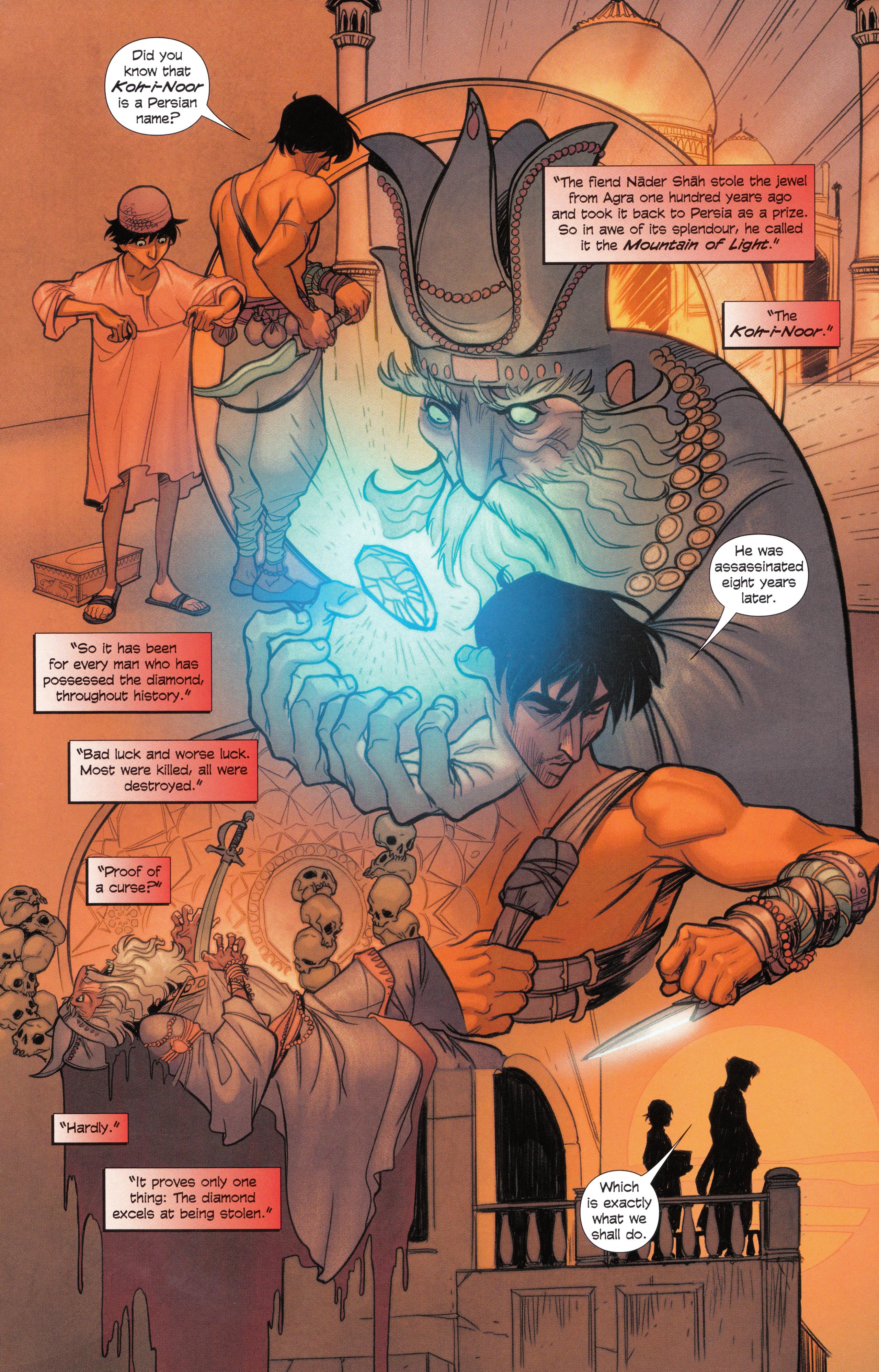 Read online Assassin's Creed Brahman comic -  Issue #Assassin's Creed Brahman Full - 39