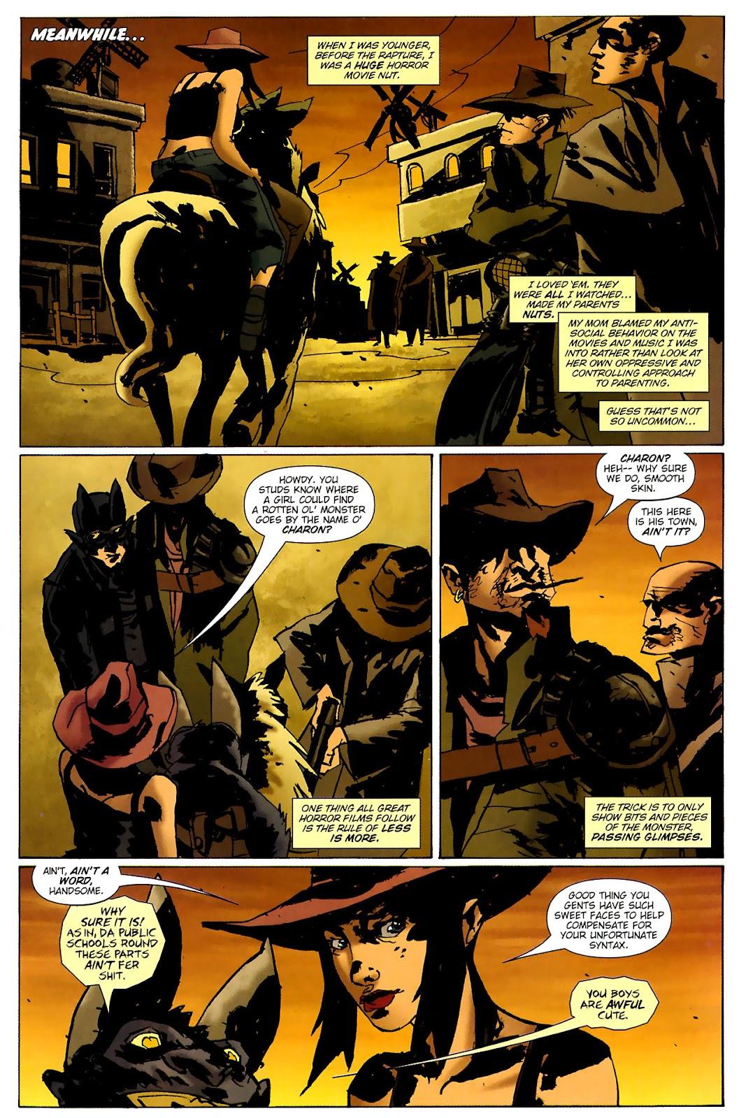 Strange Girl Issue #15 #16 - English 7