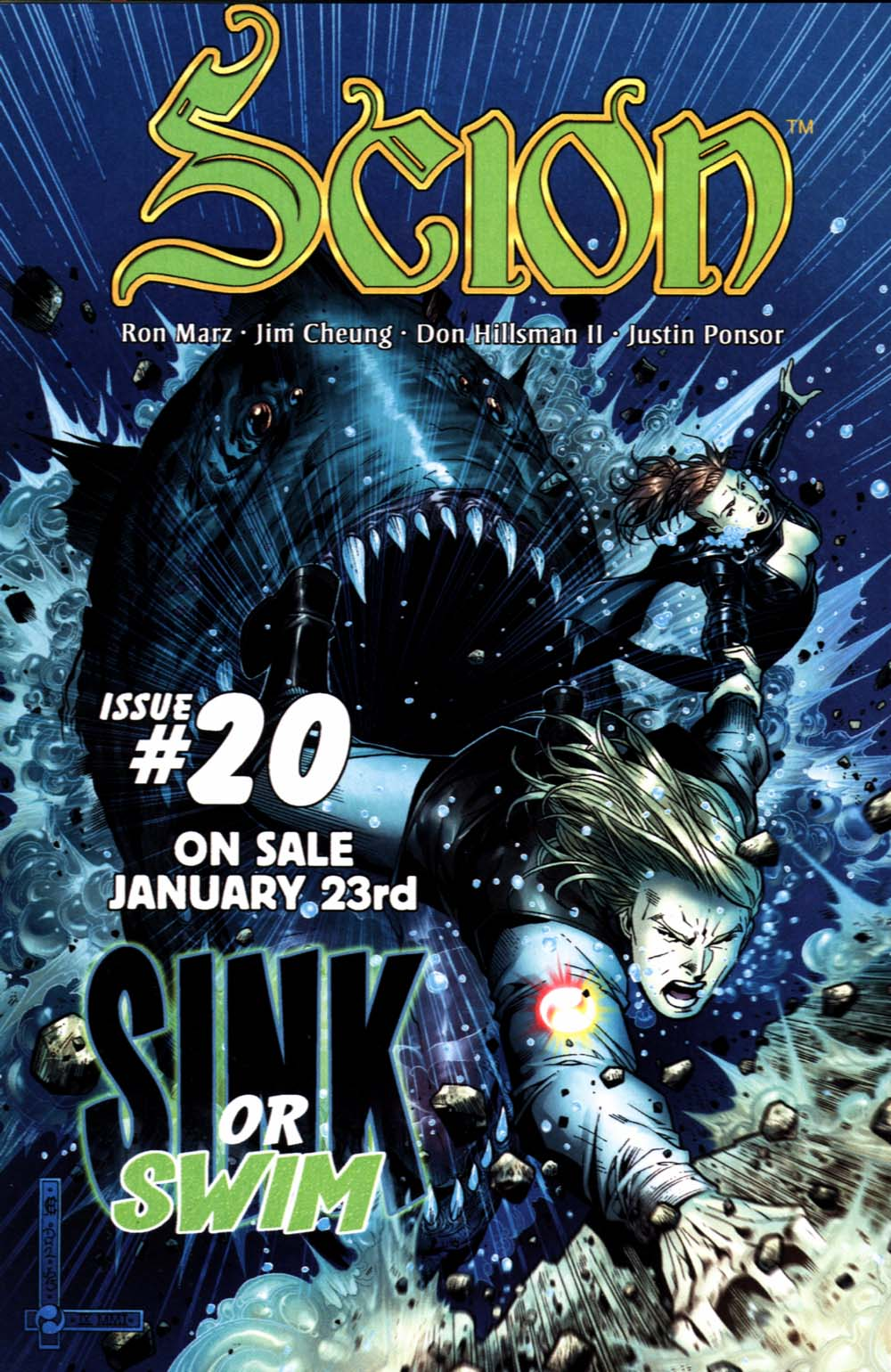 Read online Scion comic -  Issue #19 - 28