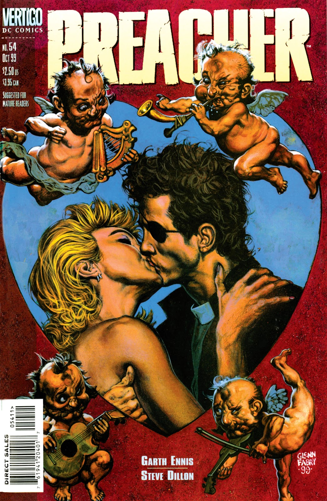 Preacher Issue #54 #63 - English 1