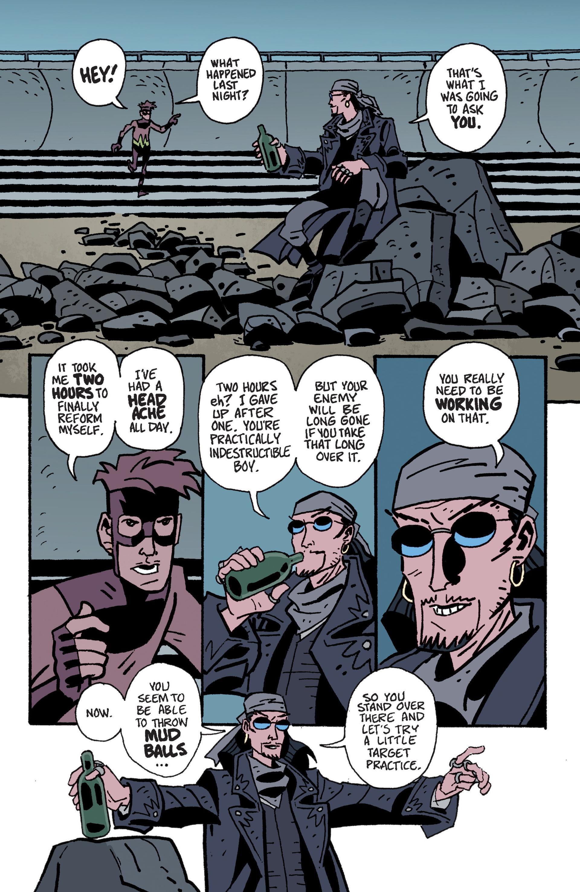 Mudman #6 #7 - English 10