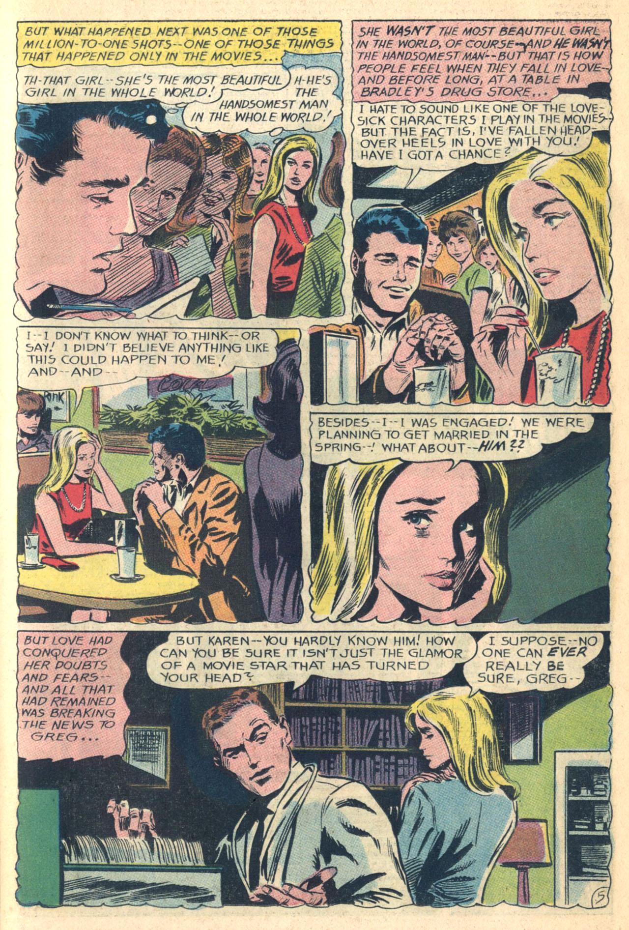 Read online Secret Hearts comic -  Issue #110 - 23