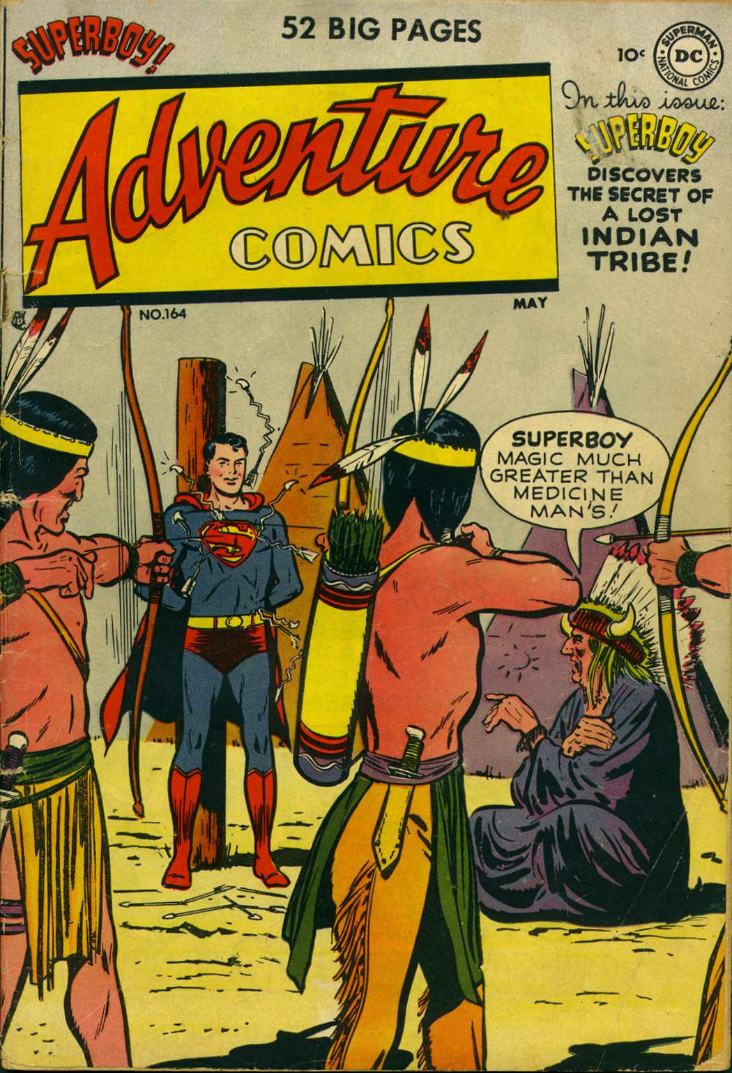 Read online Adventure Comics (1938) comic -  Issue #164 - 1