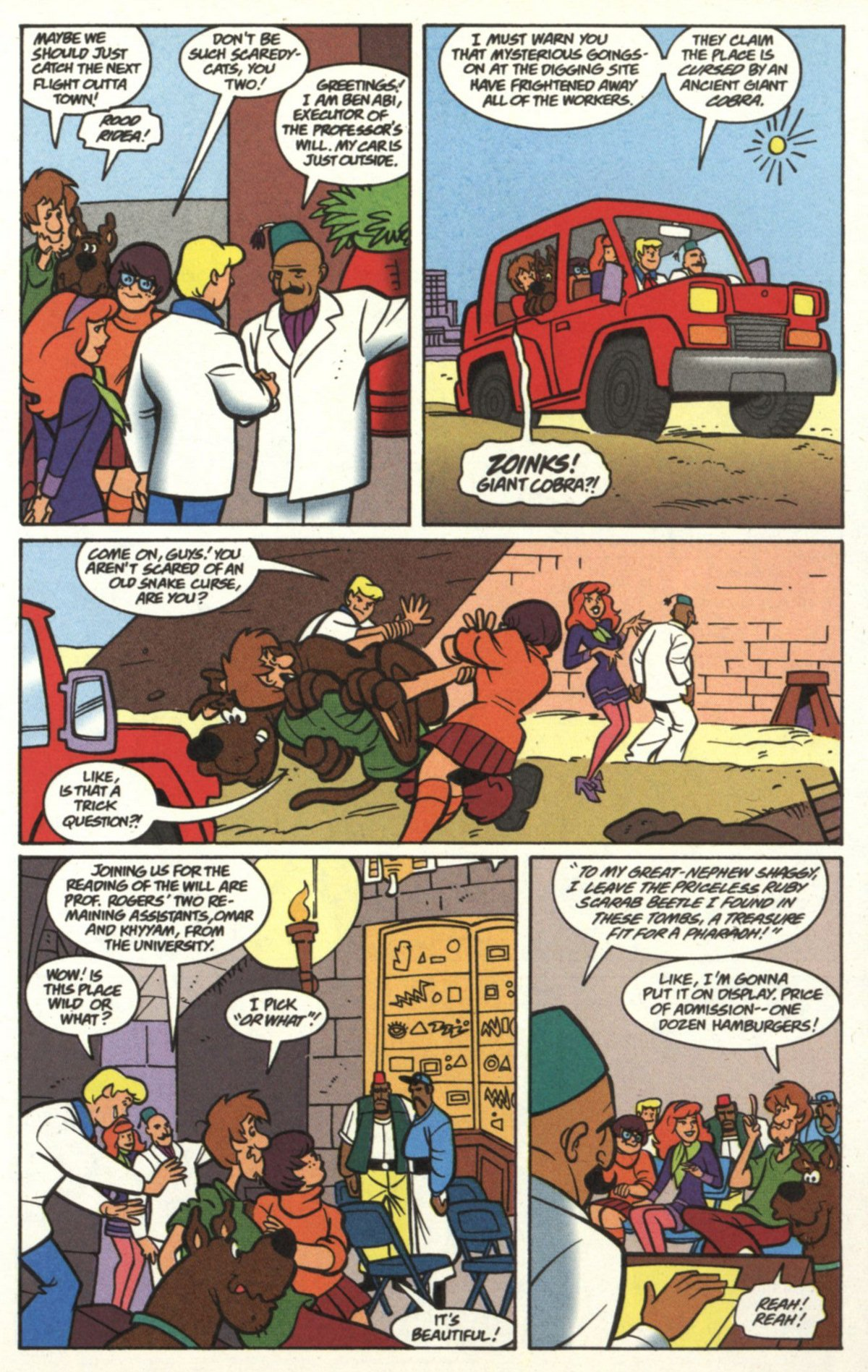 Read online Scooby-Doo (1997) comic -  Issue #19 - 4