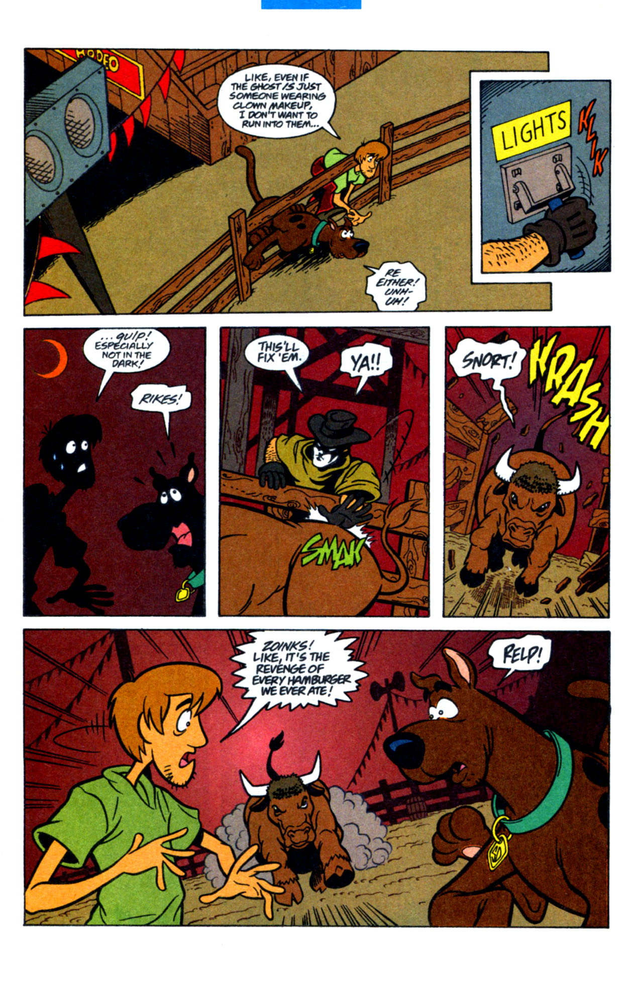 Read online Scooby-Doo (1997) comic -  Issue #15 - 18