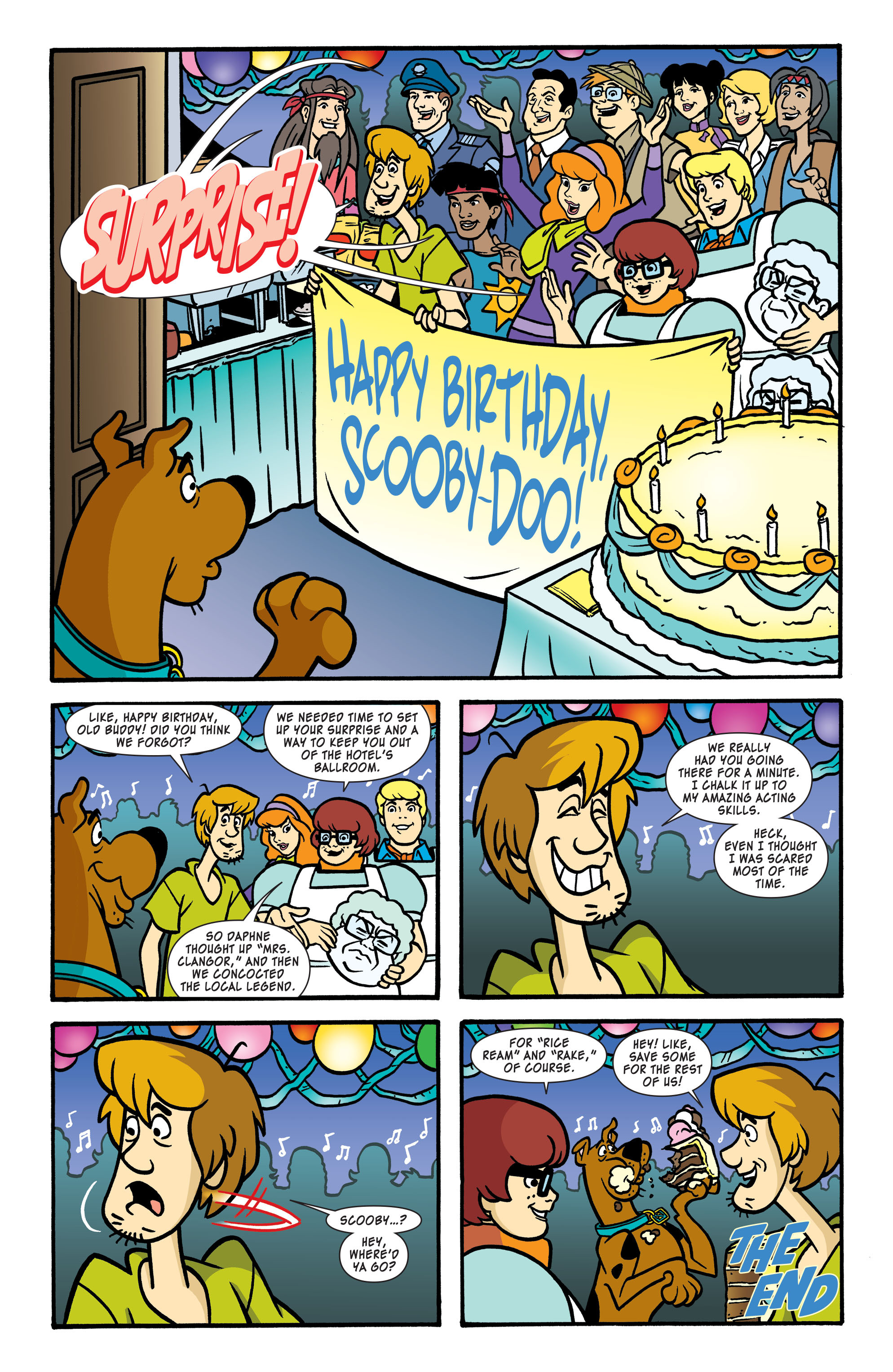 Read online Scooby-Doo: Where Are You? comic -  Issue #56 - 11