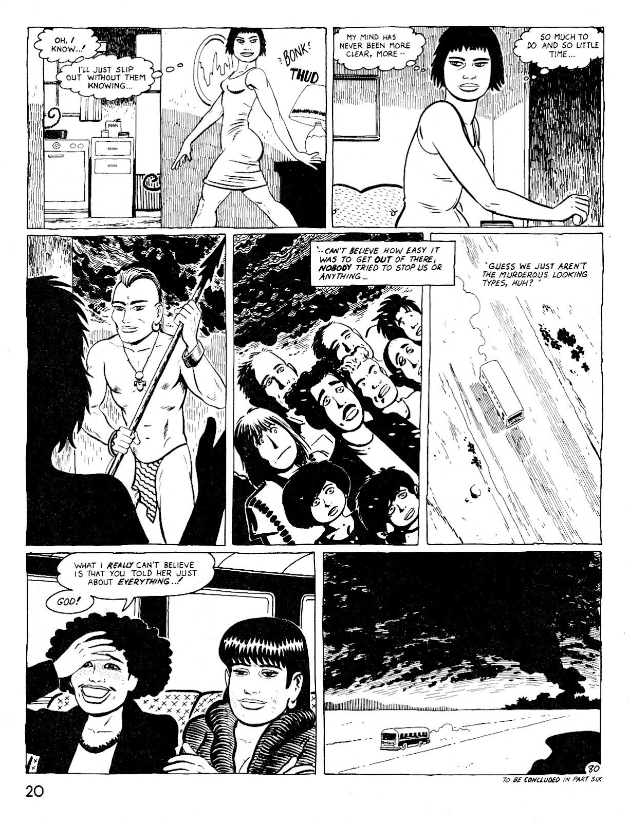 Love and Rockets (1982) Issue #25 #24 - English 24