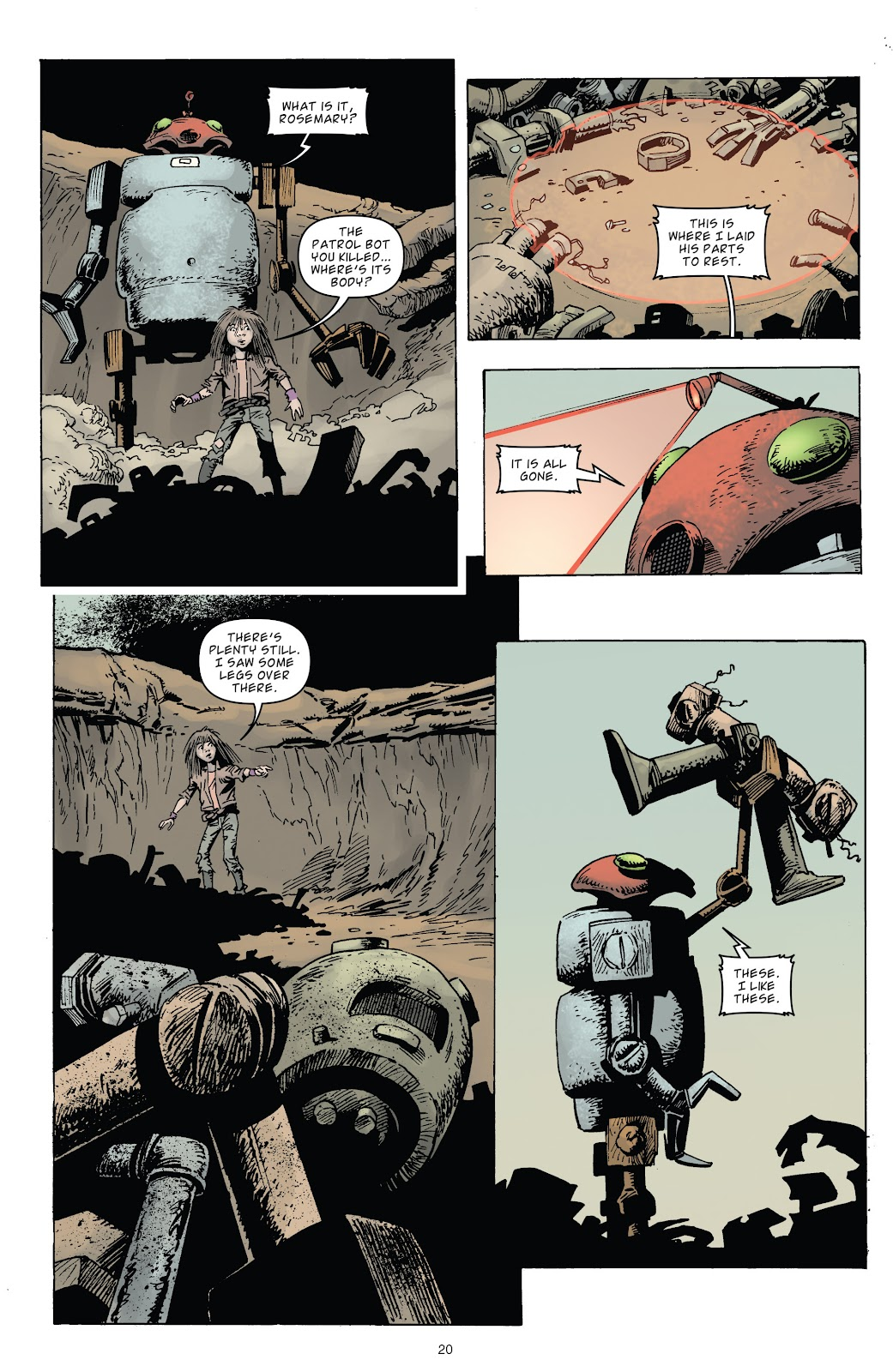 Zombies vs Robots (2015) Issue #3 Page 20