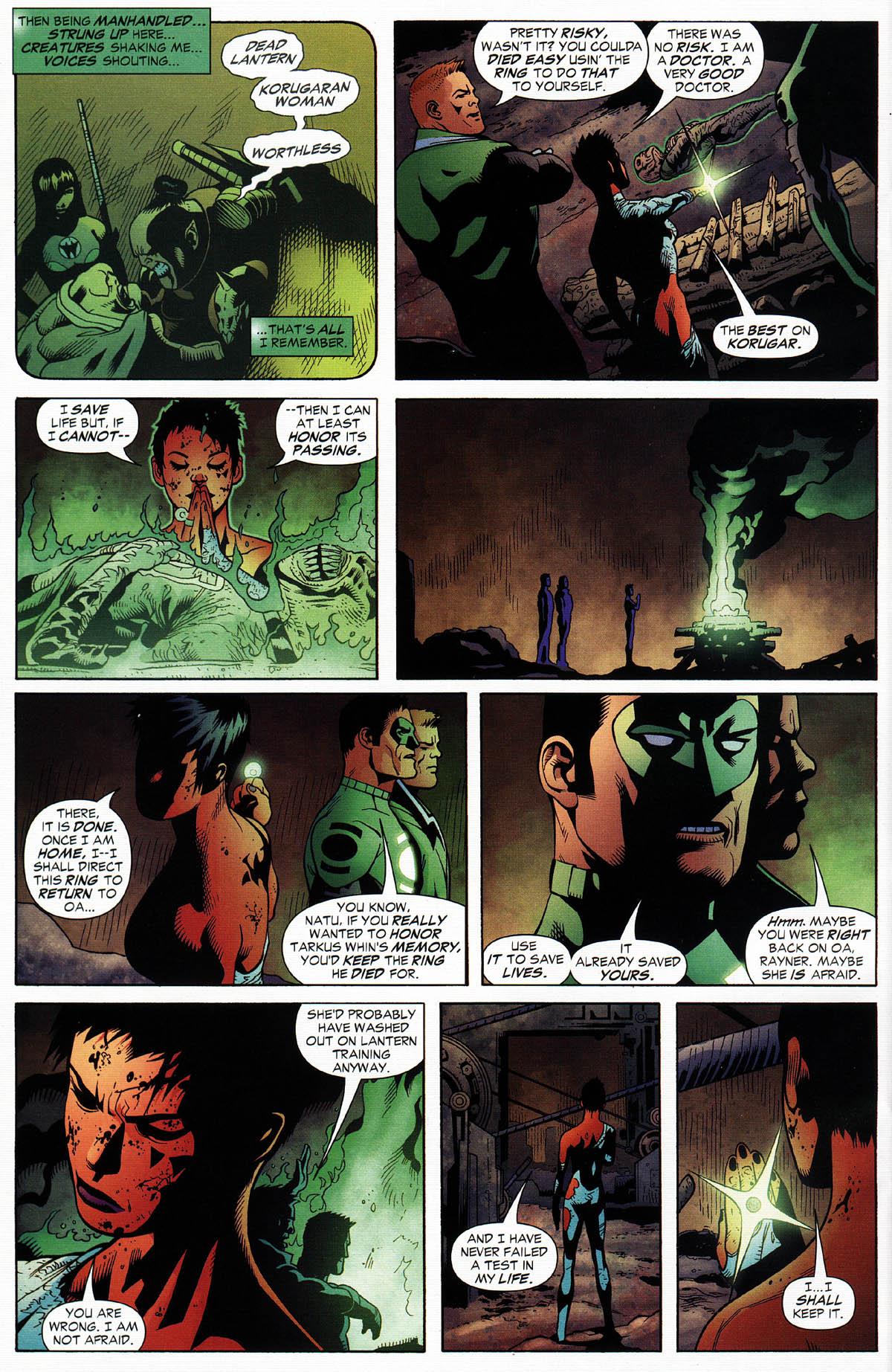 Read online Green Lantern Corps: Recharge comic -  Issue #3 - 15