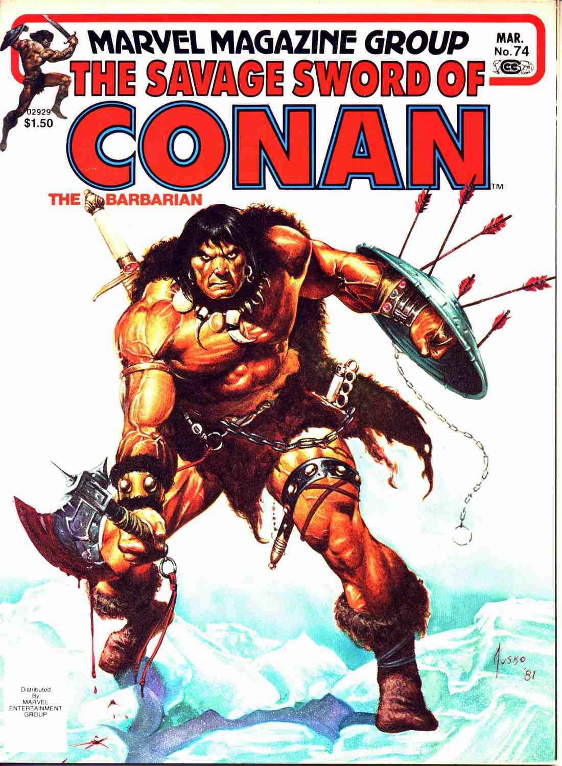 The Savage Sword Of Conan Issue #74 #75 - English 1