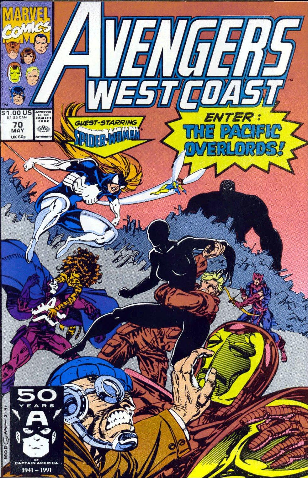 Avengers West Coast (1989) 70 Page 1