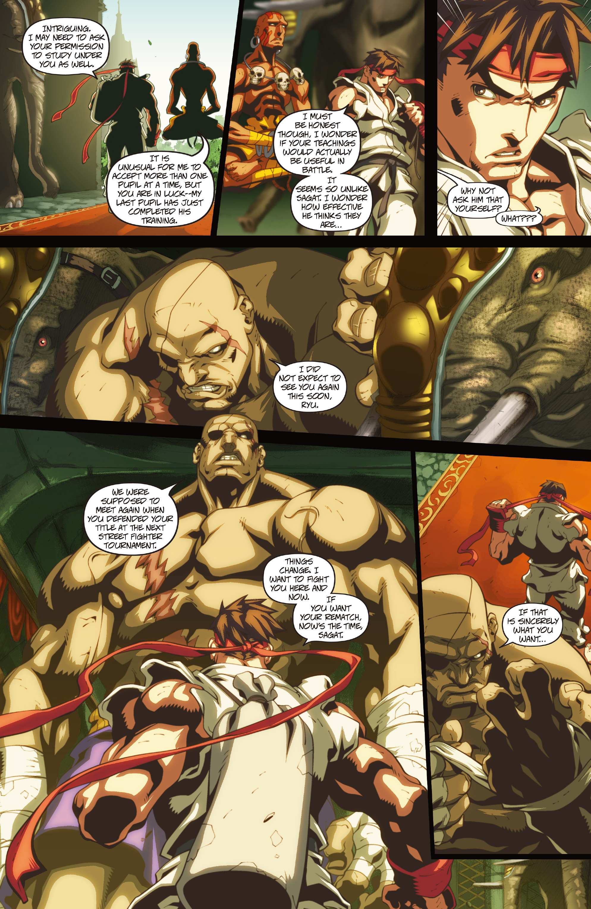 Street Fighter II chap 1 pic 32
