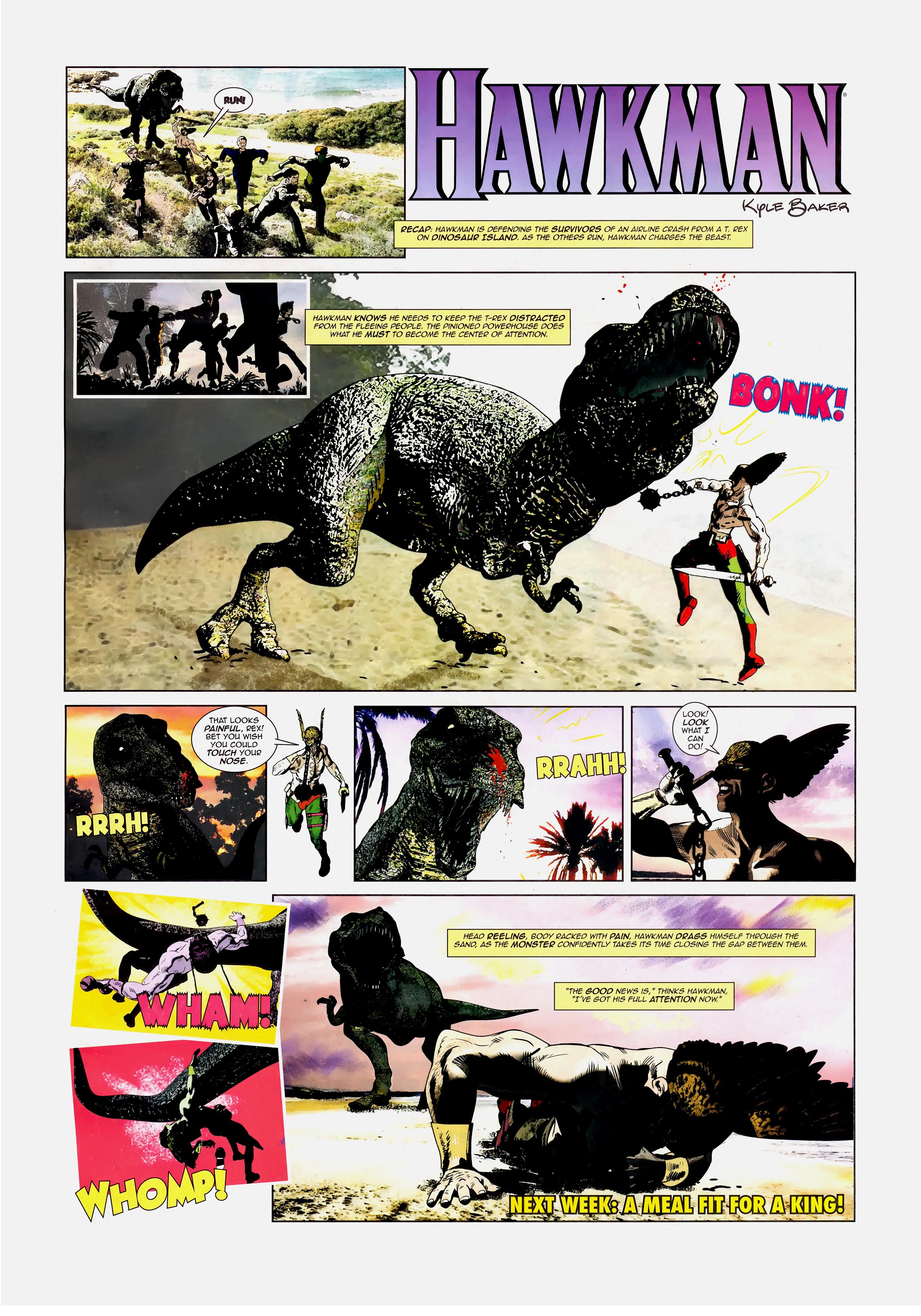 Read online Wednesday Comics comic -  Issue #10 - 16