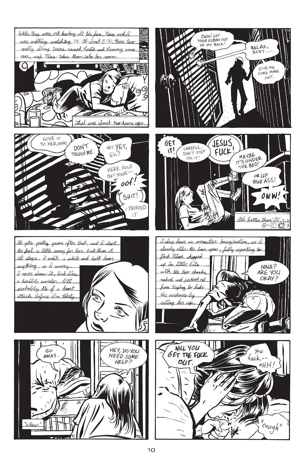 Stray Bullets Issue #13 #13 - English 12