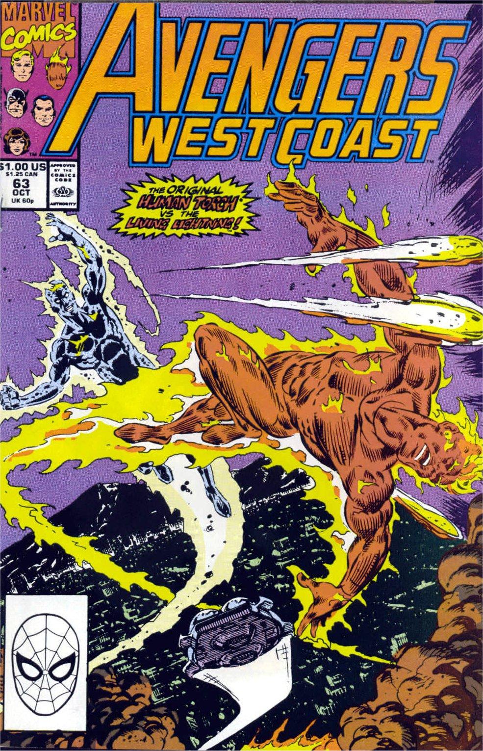 Avengers West Coast (1989) 63 Page 1