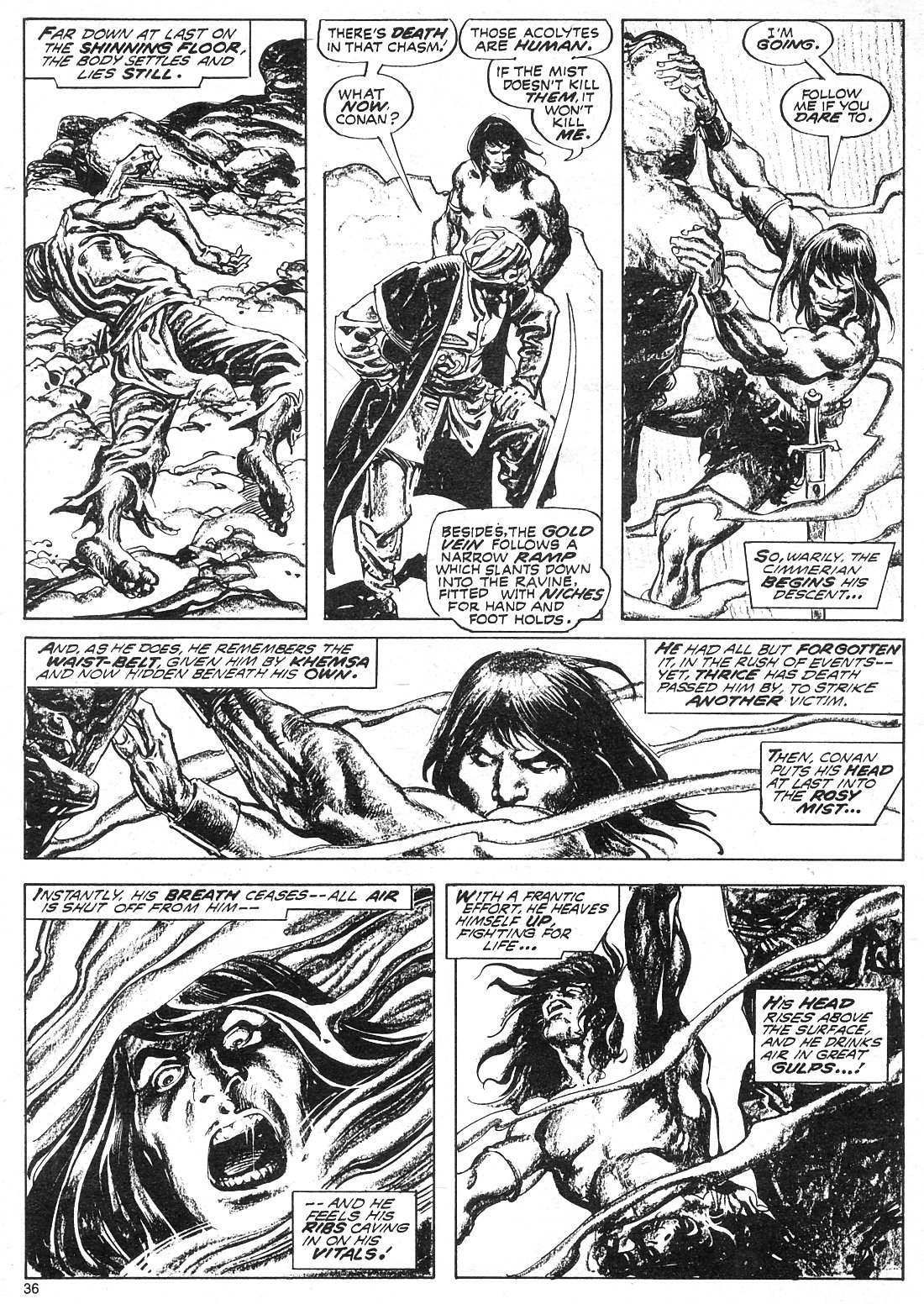 The Savage Sword Of Conan Issue #18 #19 - English 36