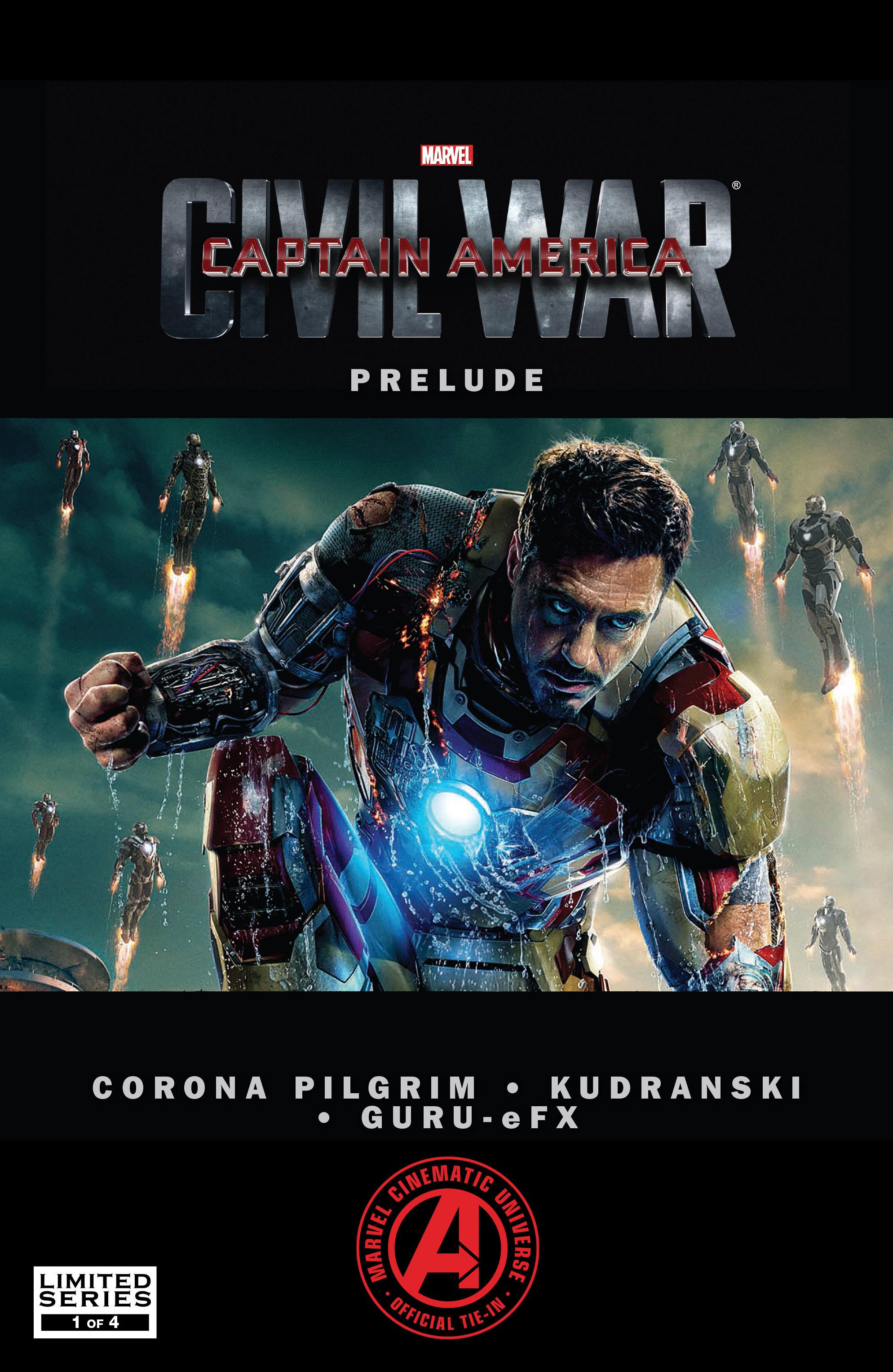 Captain America: Civil War Prelude 1 Page 1