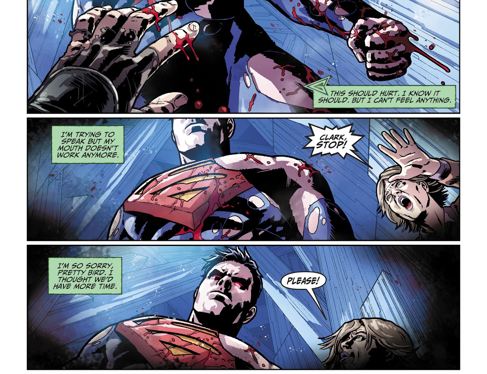 Injustice: Gods Among Us [I] Issue #33 #34 - English 21
