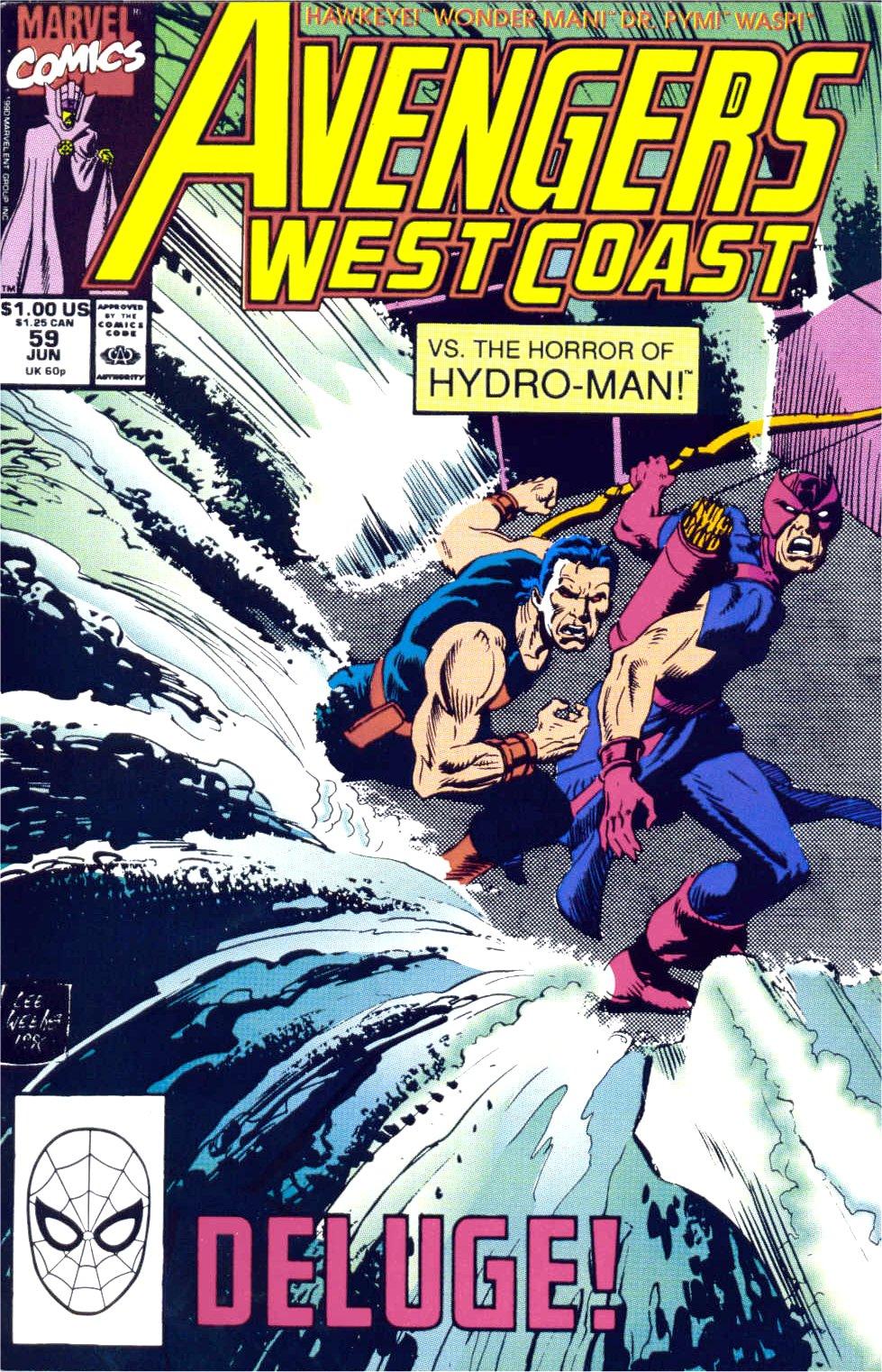 Avengers West Coast (1989) 59 Page 1