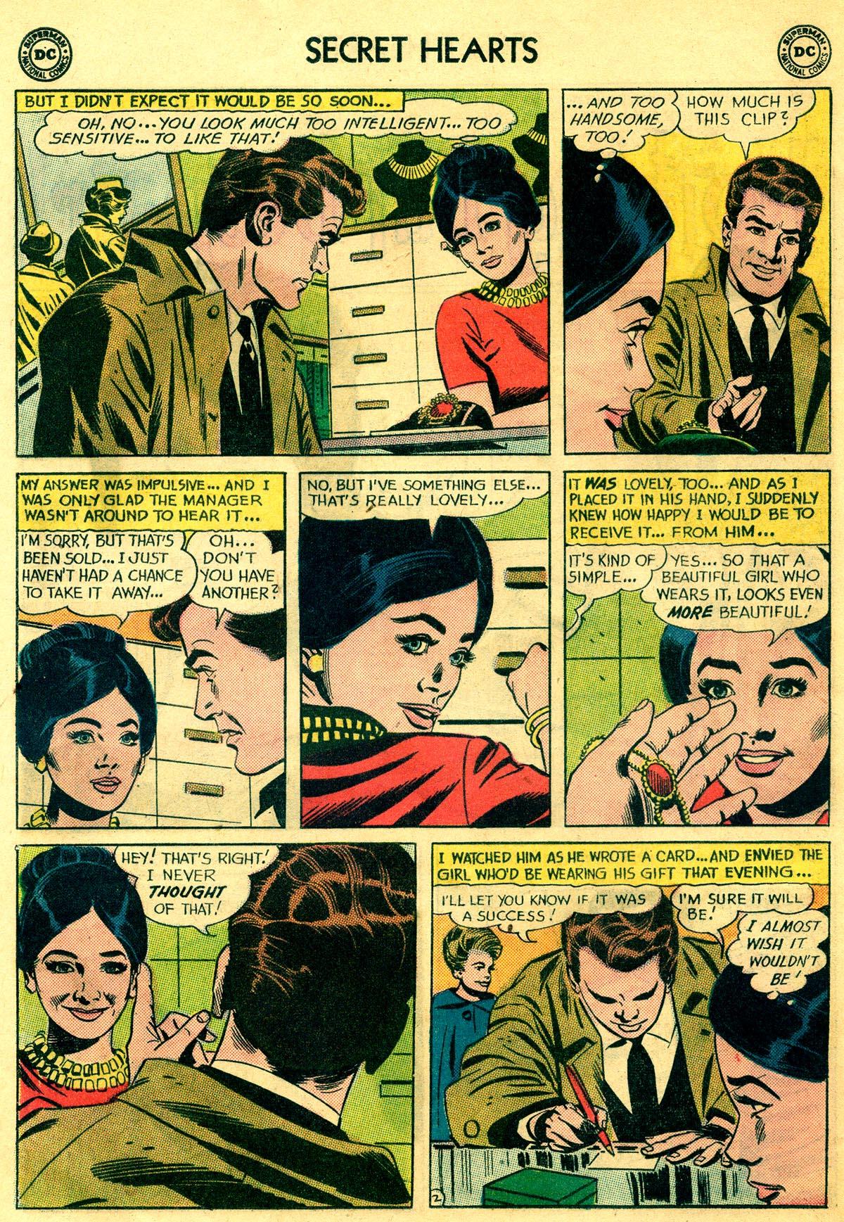 Read online Secret Hearts comic -  Issue #81 - 12