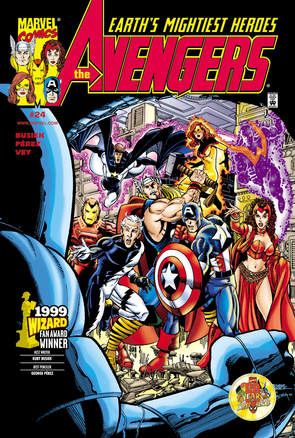 Avengers (1998) 24 Page 1