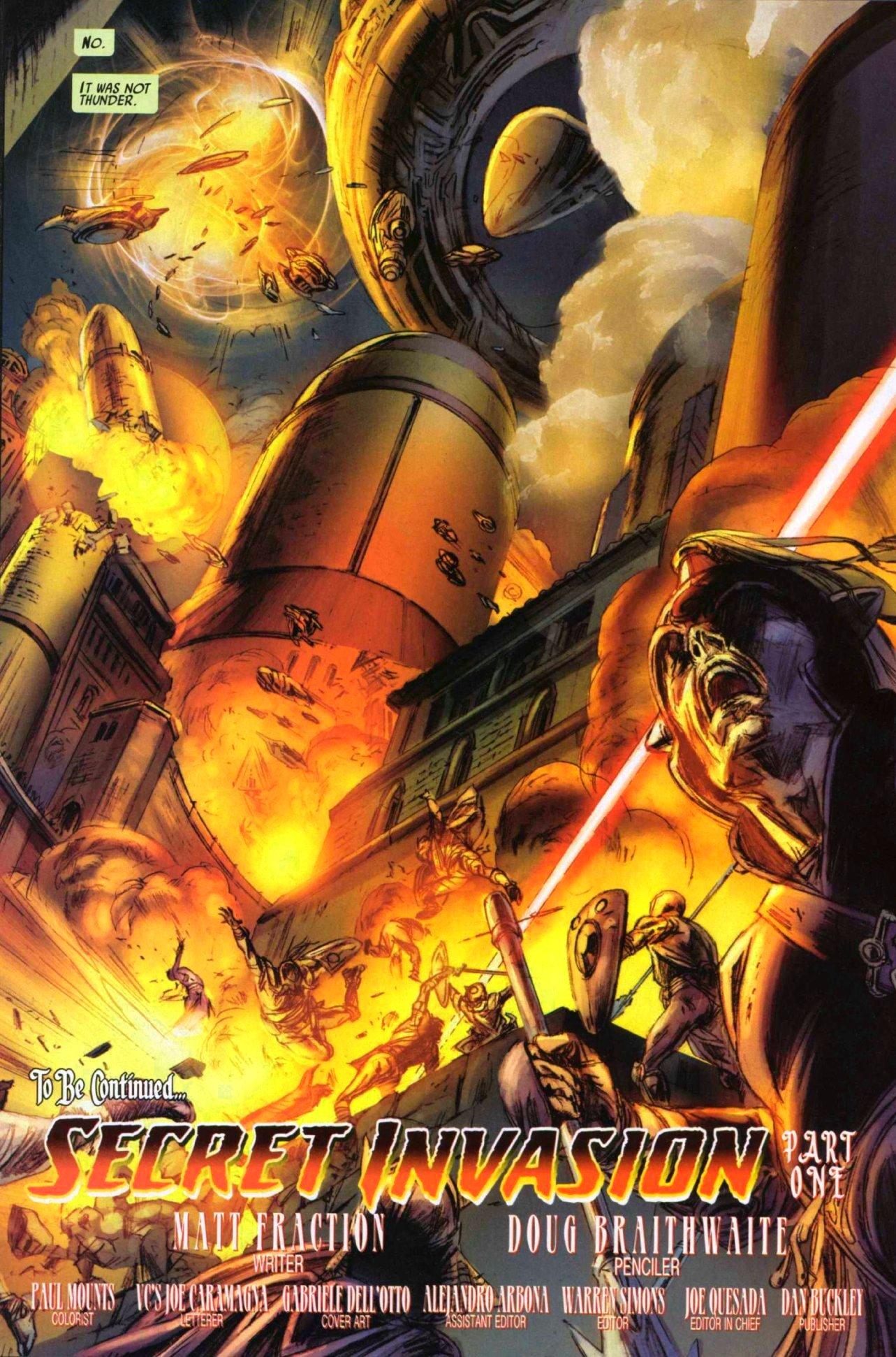 Read online Secret Invasion: Thor comic -  Issue #1 - 22